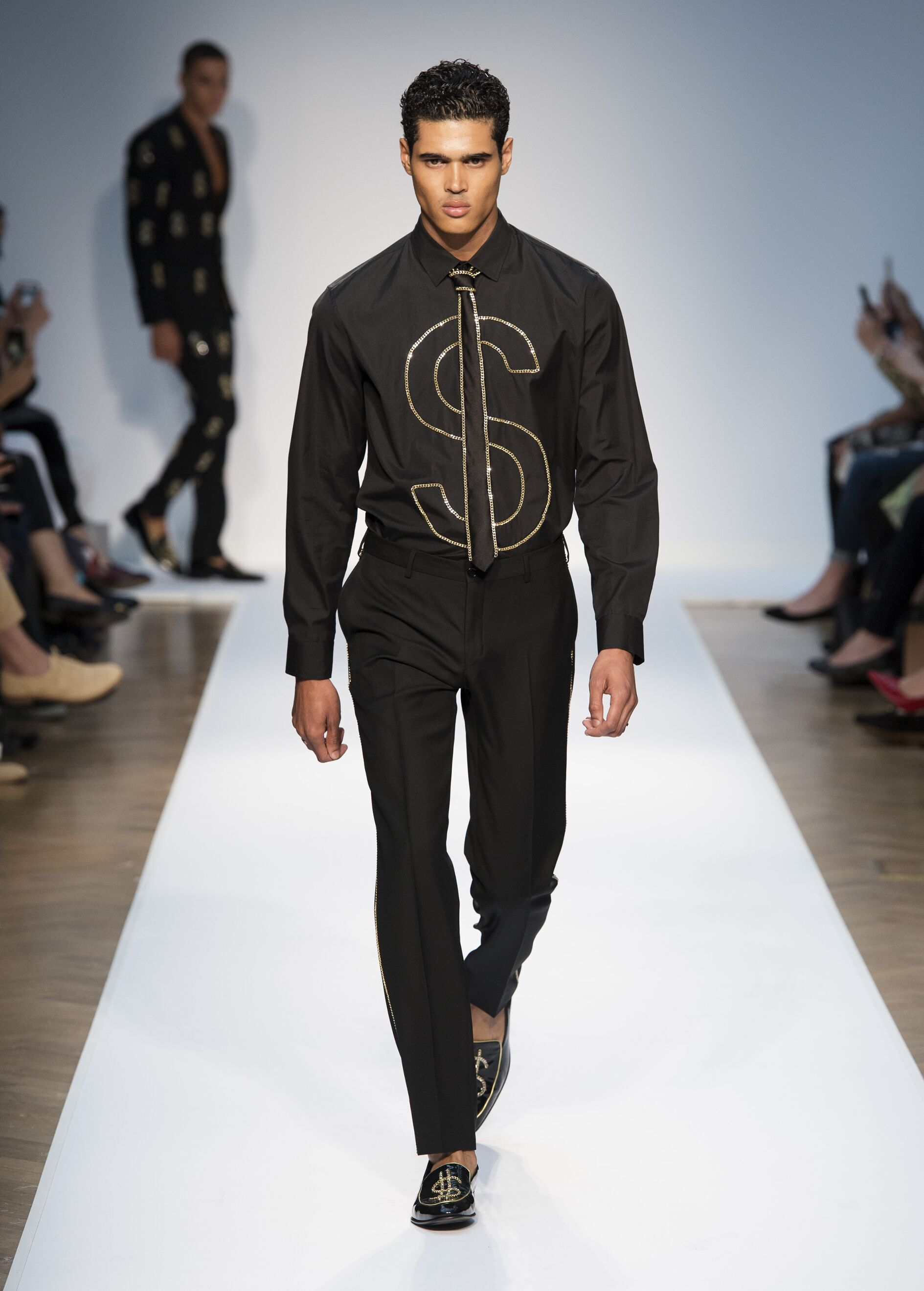 Spring Summer 2015 Man London Moschino Collection