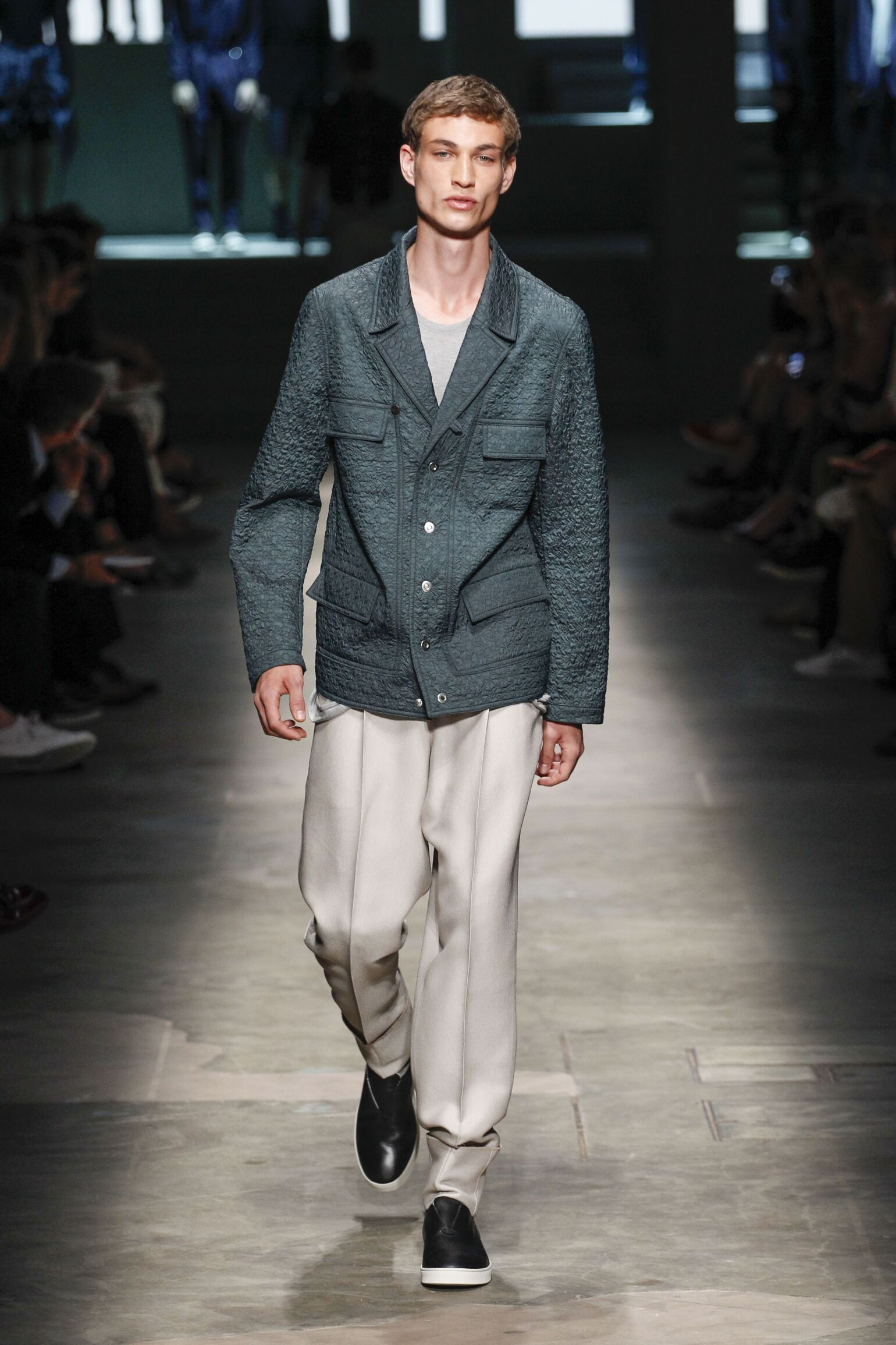 Spring Summer 2015 Man Milan Ermenegildo Zegna Couture Collection