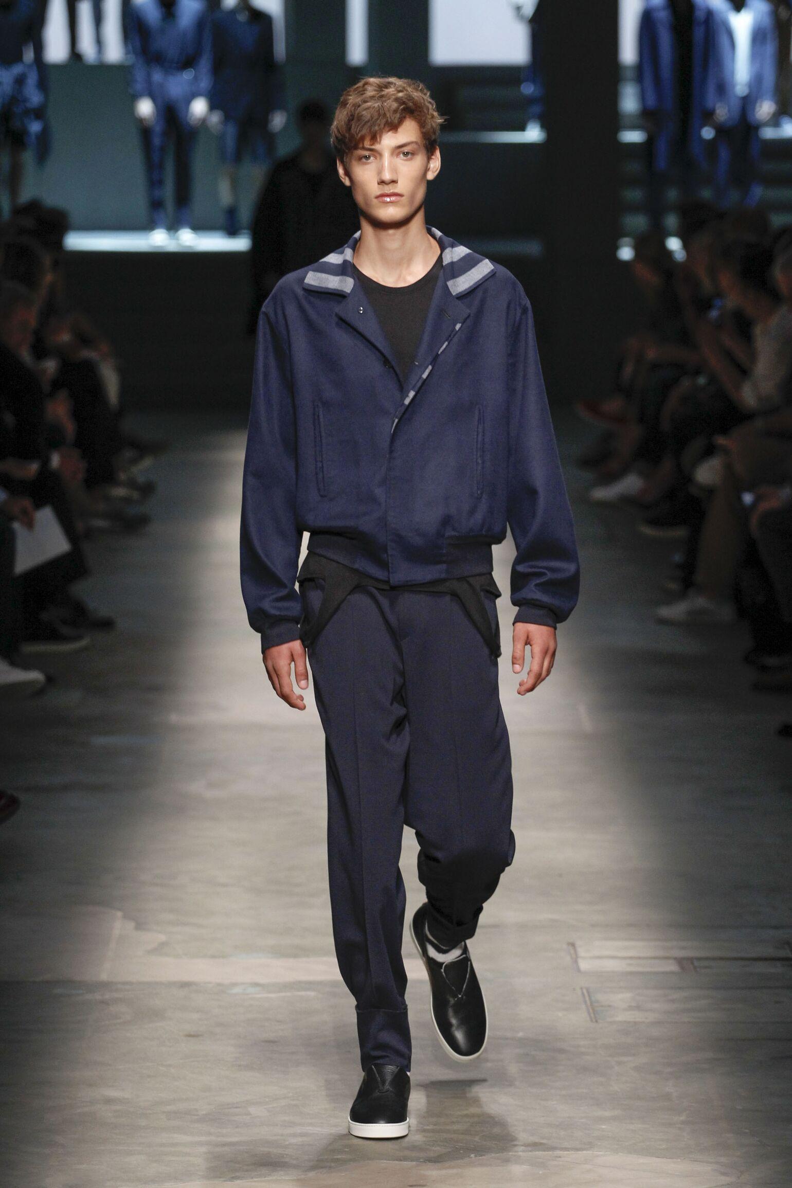 Summer 2015 Fashion Show Ermenegildo Zegna Couture