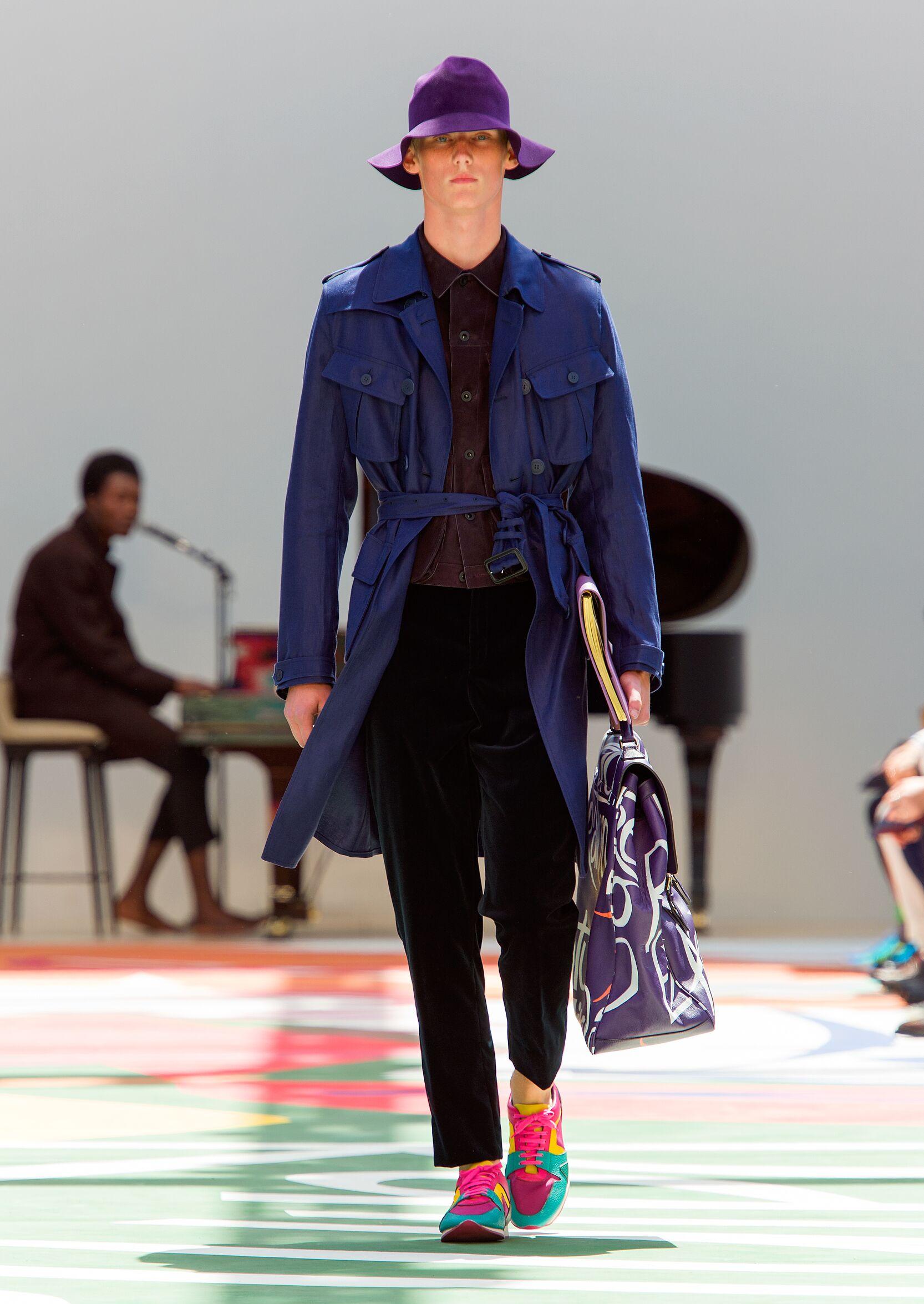 Summer 2015 Fashion Trends Burberry Prorsum