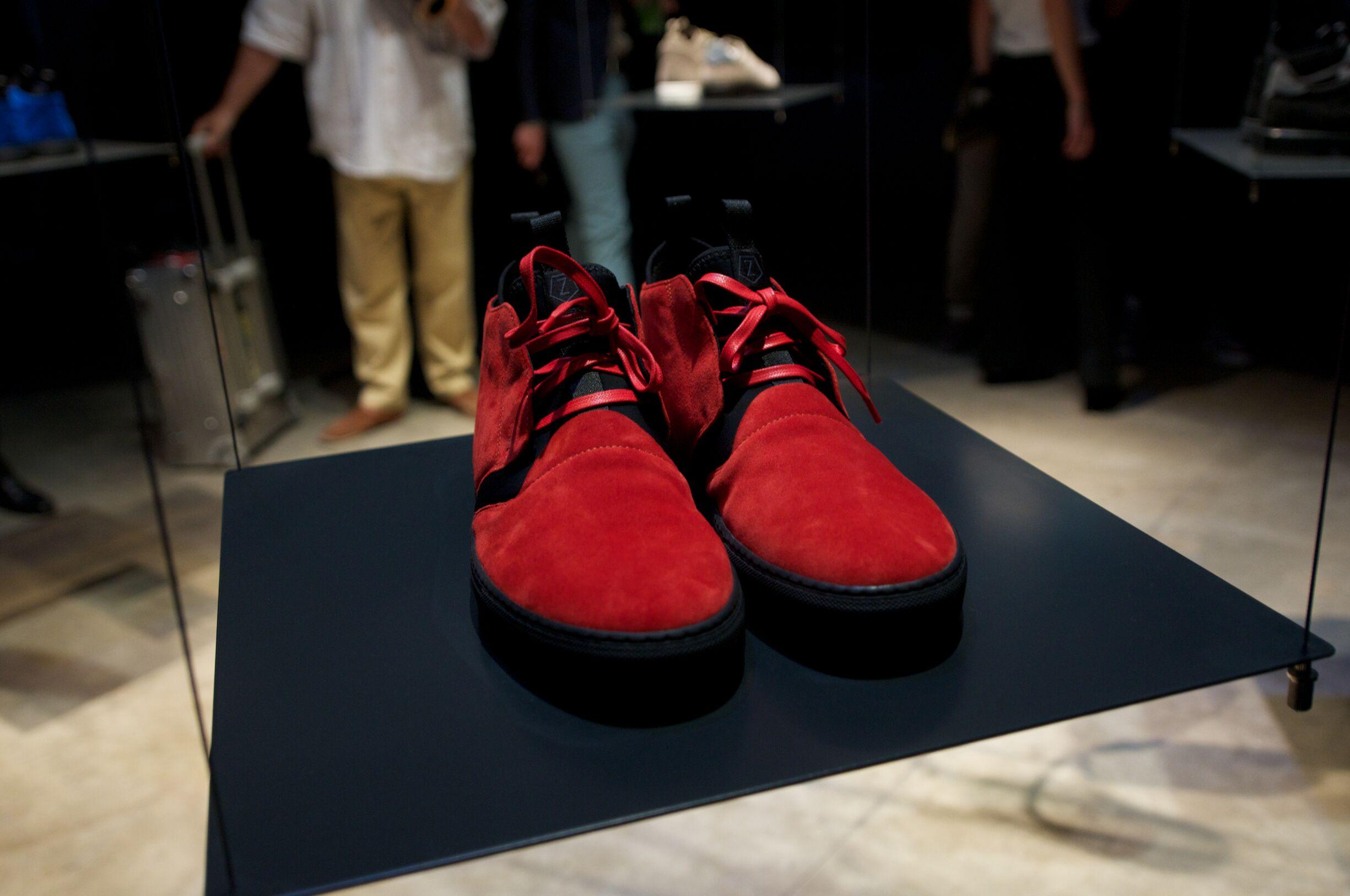 Z Zegna Shoes Detail