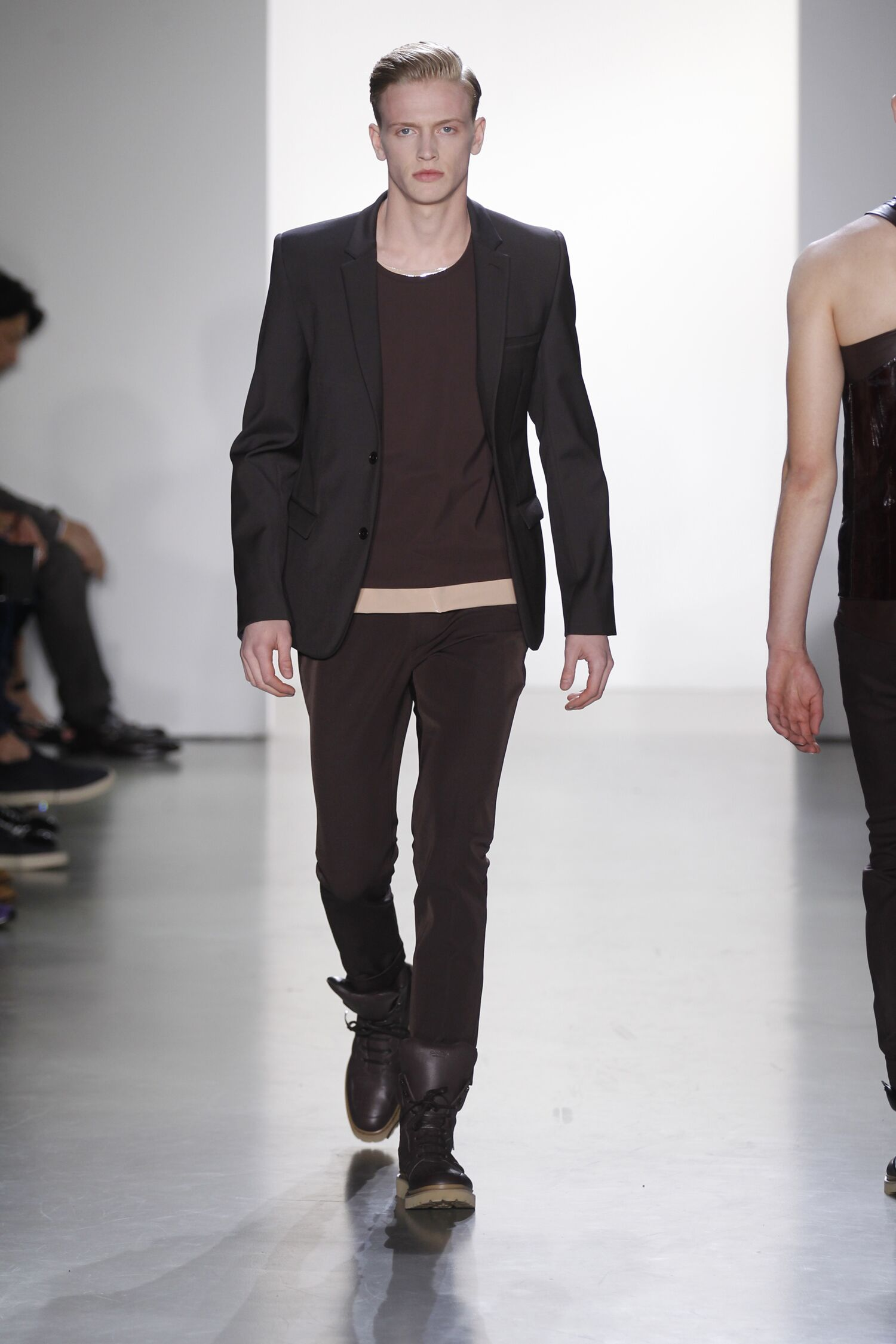 2015 Catwalk Calvin Klein Collection Man Fashion Show Spring