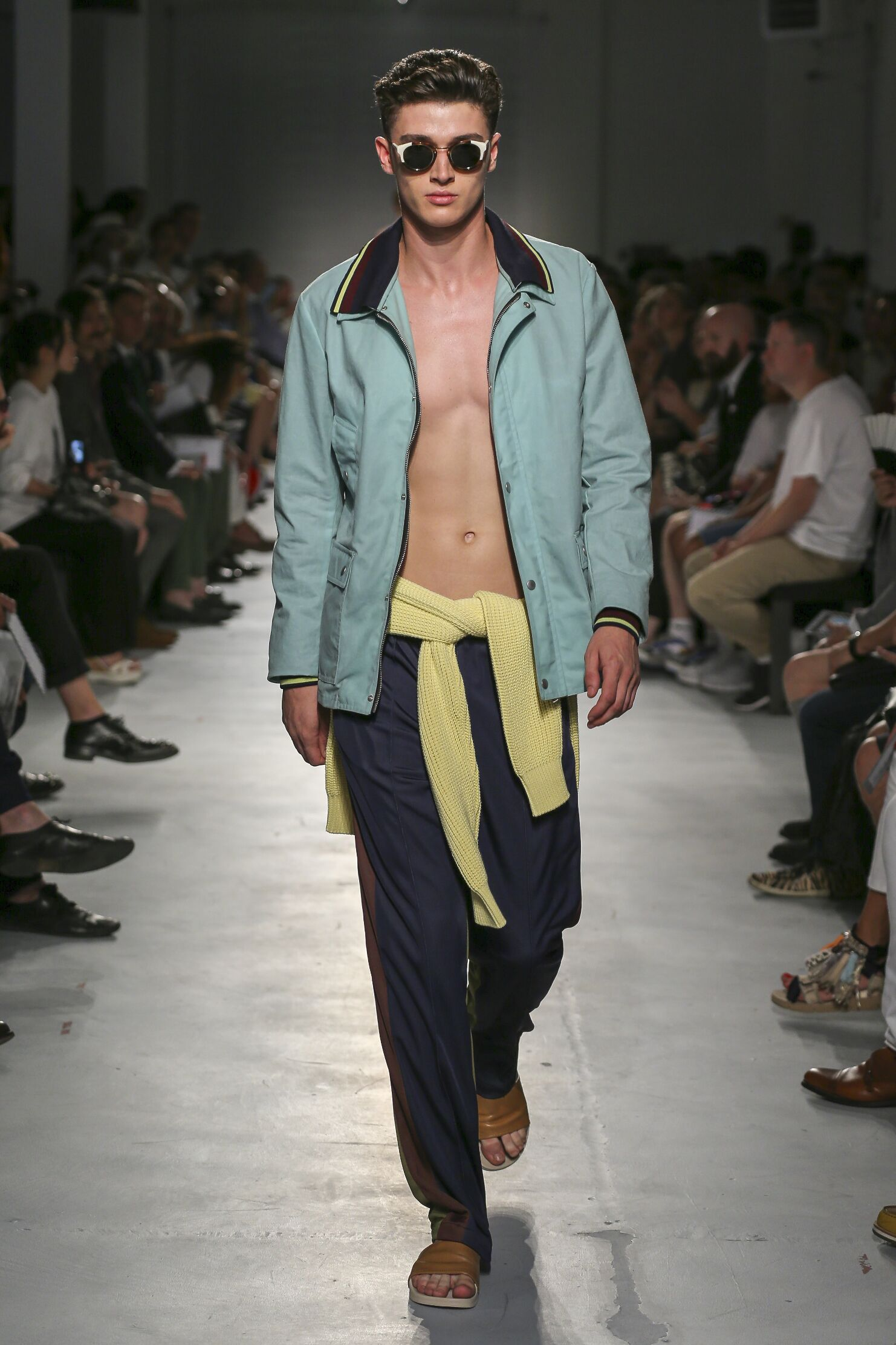 2015 Catwalk Msgm Man Fashion Show Summer