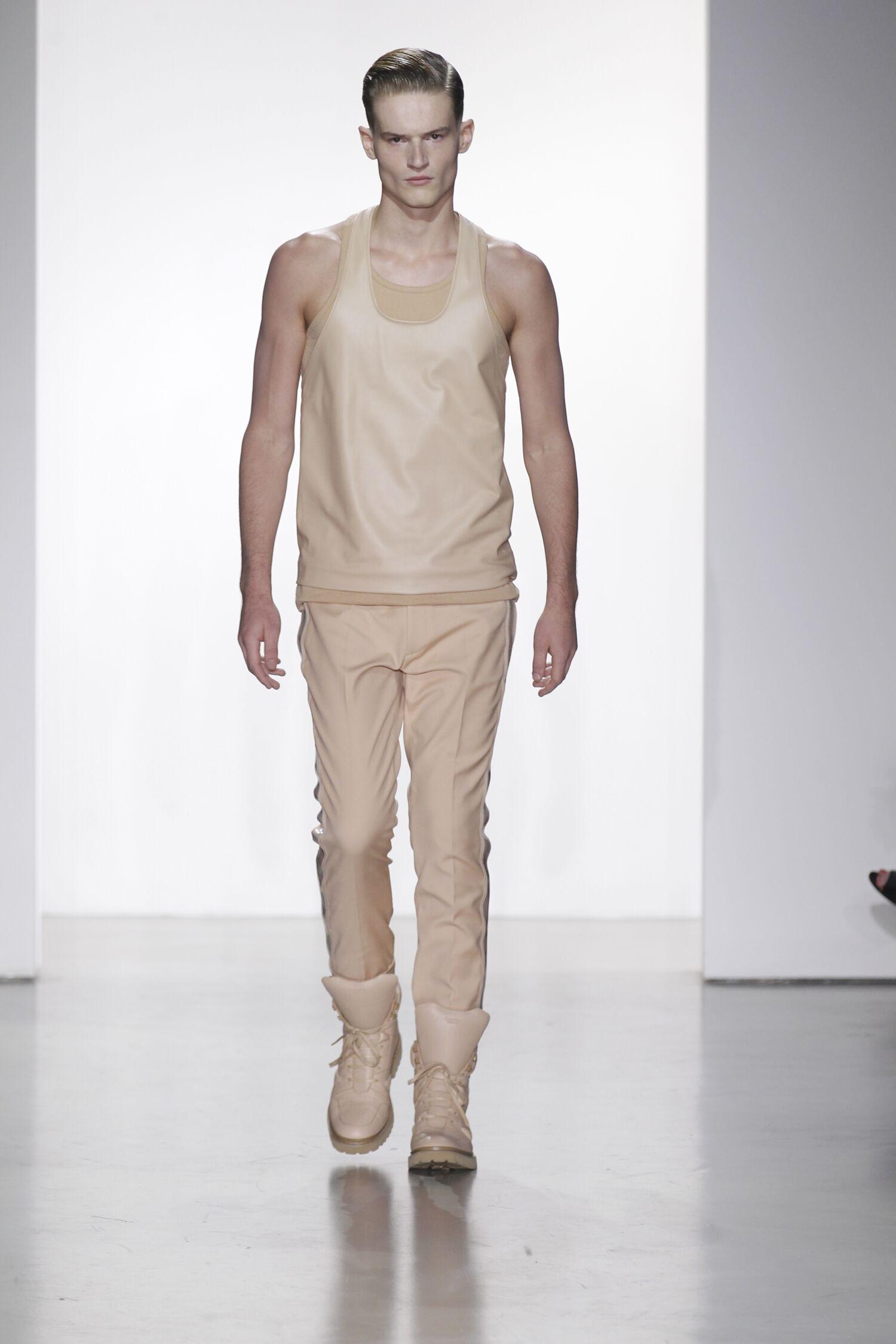 2015 Fashion Model Calvin Klein Collection