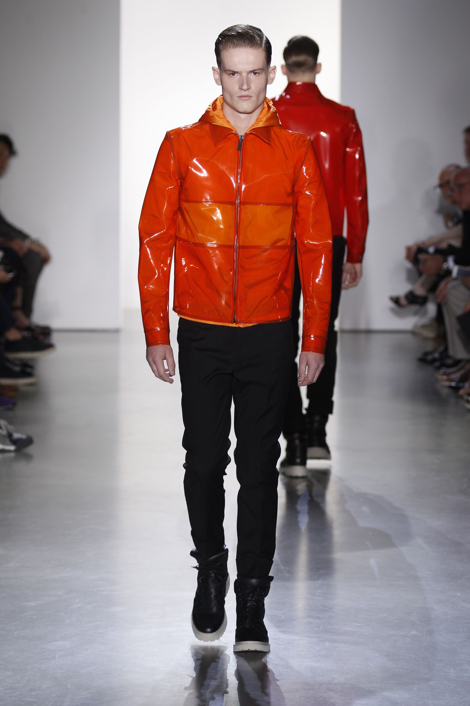 Calvin Klein Collection Spring 2015 Catwalk