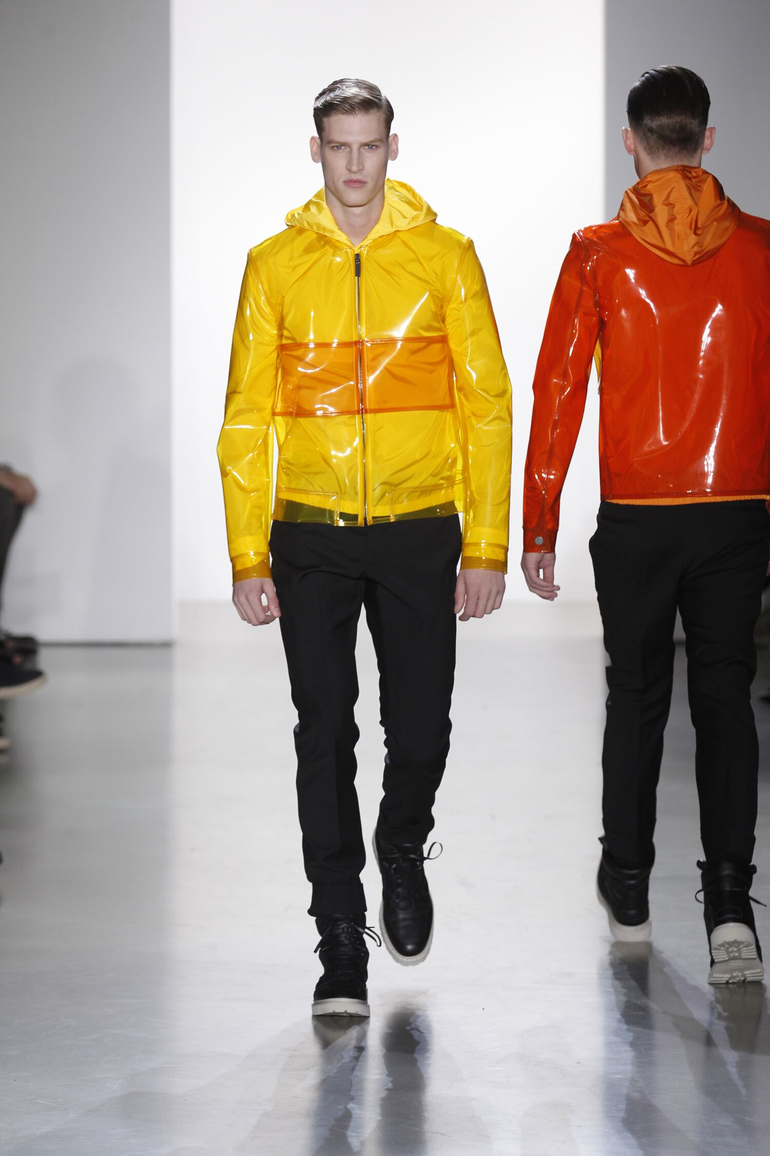 Catwalk Calvin Klein Collection Man Fashion Show Spring 2015