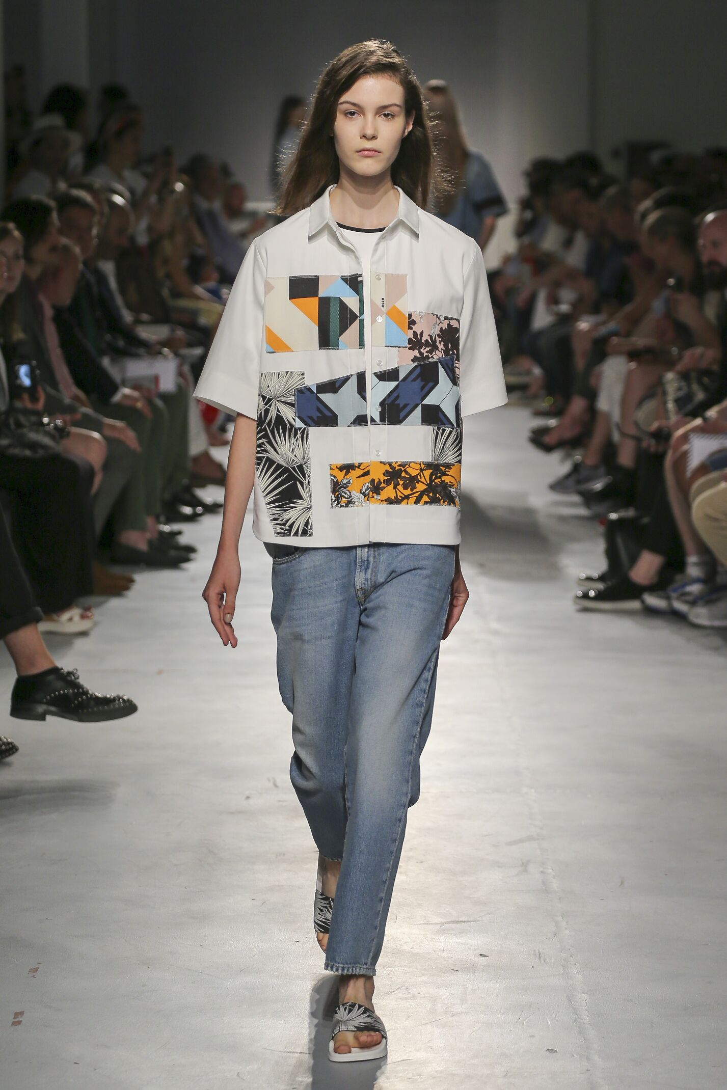 Catwalk Msgm Woman Fashion Show Summer 2015
