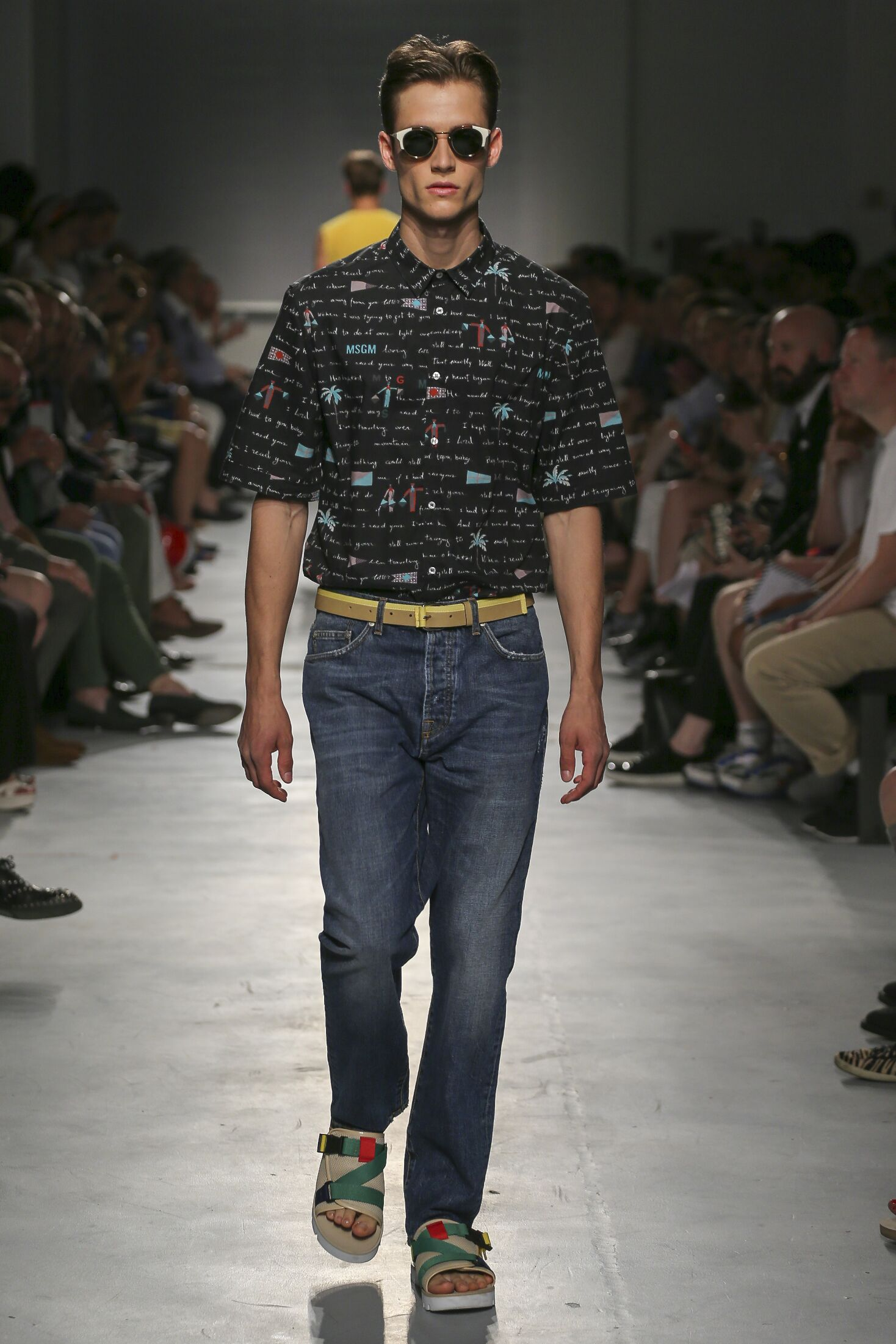Msgm Spring Summer 2015 Men S Collection The Skinny Beep