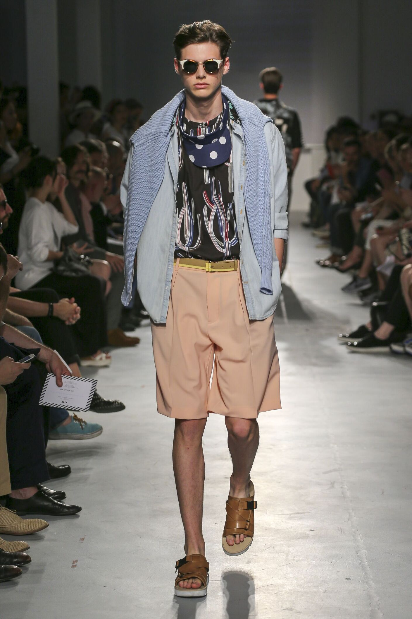 Milan Fashion Week Spring Summer 2015 Men Runway Msgm Spring Summer