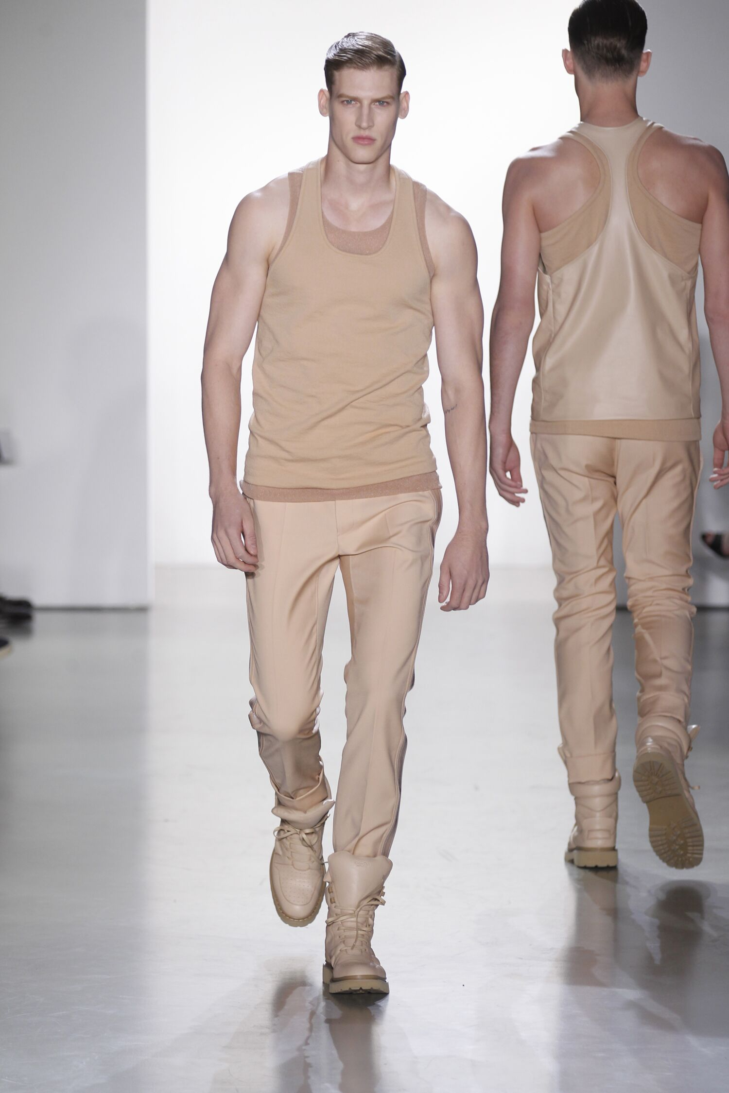 Calvin Klein Fashion Show 2015 Men Spring Man Fashion Show
