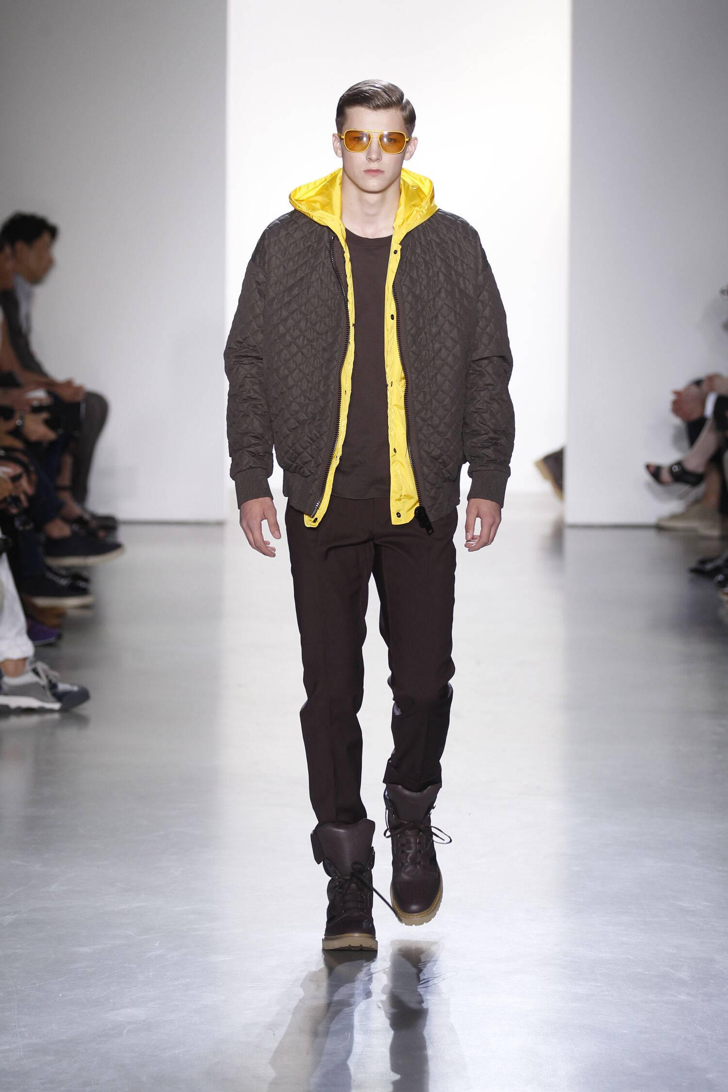 Spring 2015 Man Milan Calvin Klein Collection