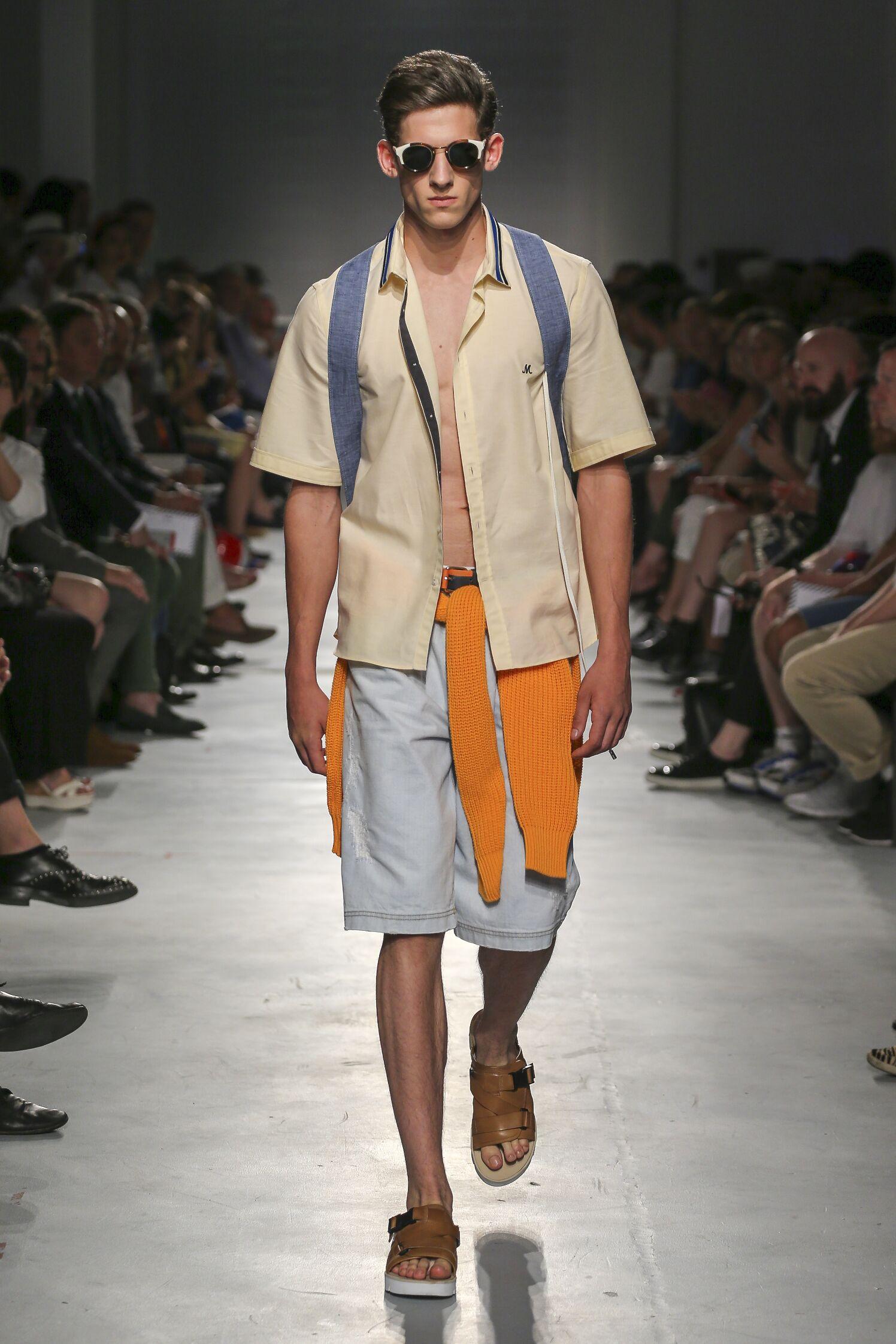 Spring Summer 2015 Man Milan Msgm Collection