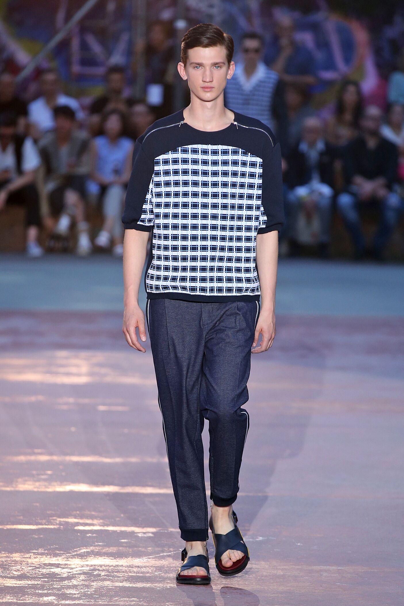 Catwalk Antonio Marras Man Fashion Show Summer 2015