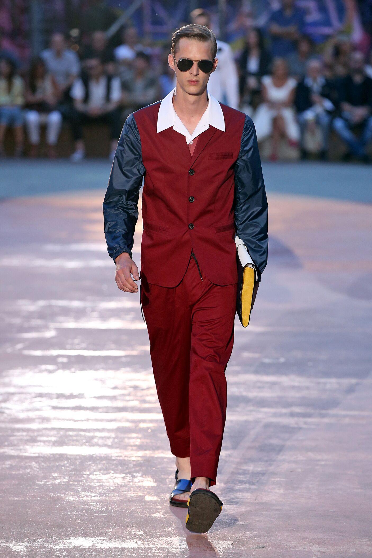 Fashion Model Antonio Marras Catwalk