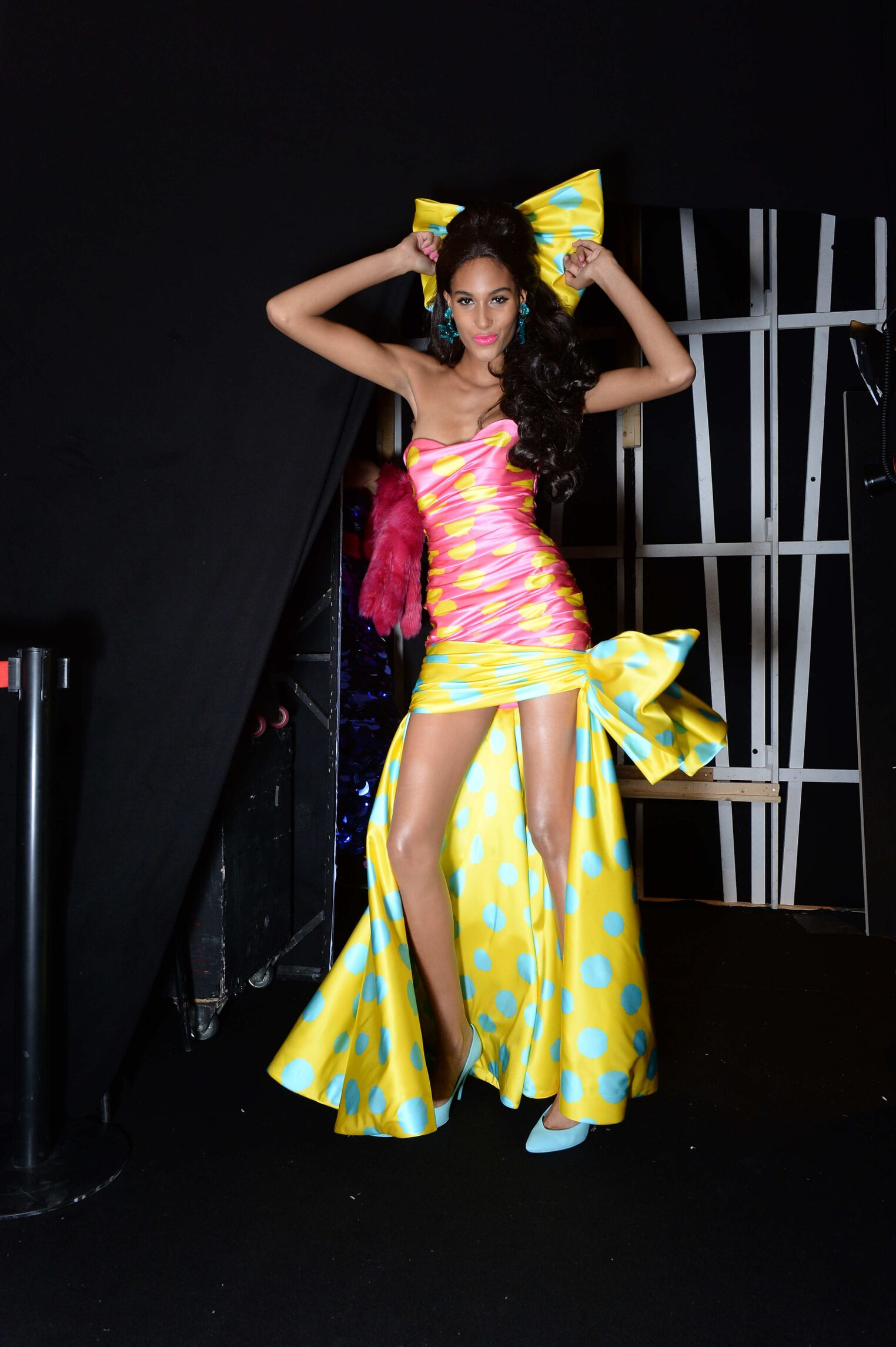 2015 Backstage Moschino Woman