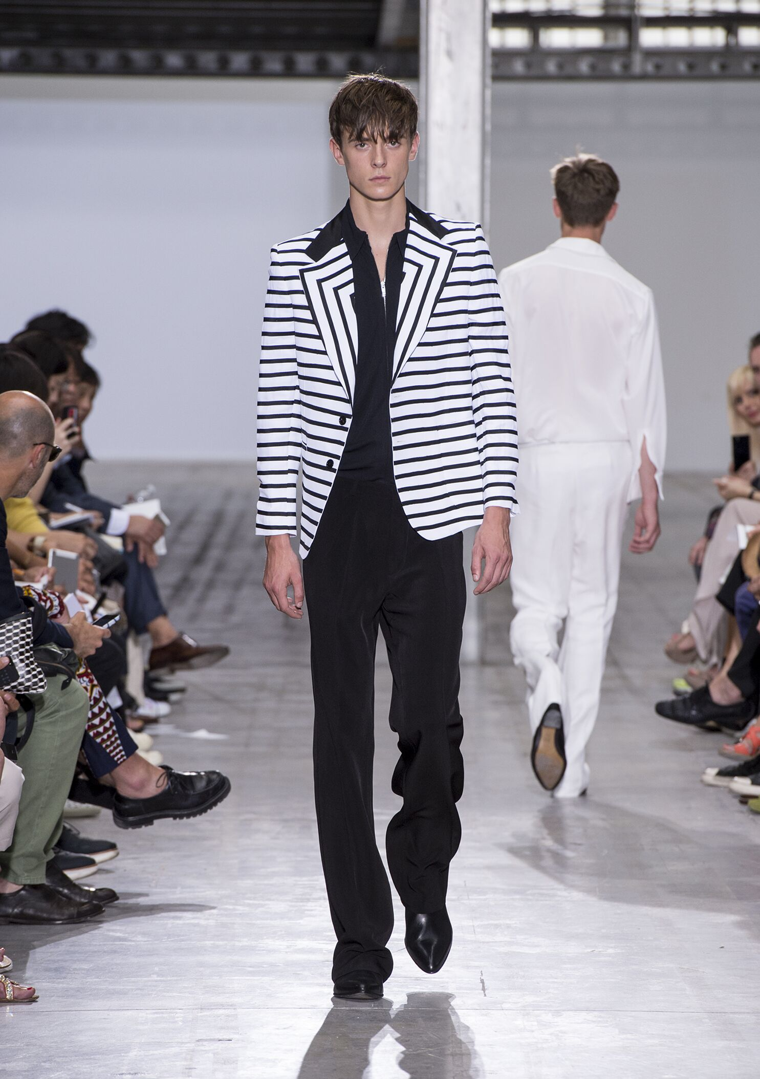 2015 Catwalk Costume National Homme Fashion Show Summer