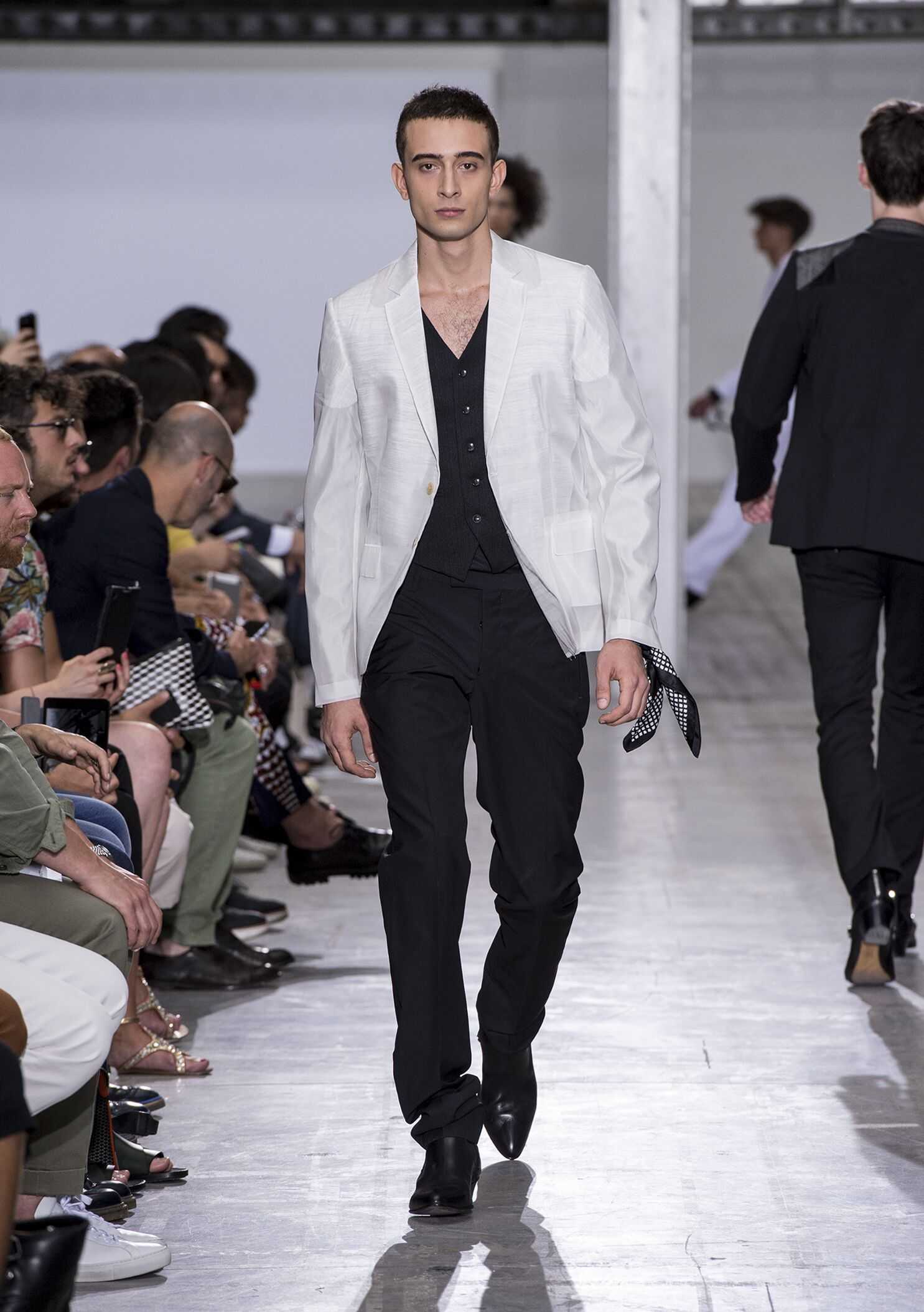 2015 Catwalk Costume National Homme Summer