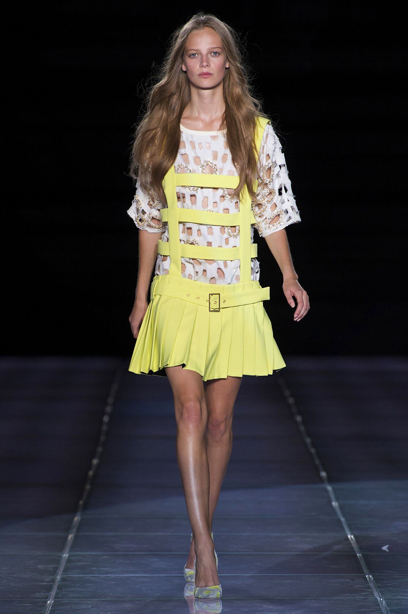 2015 Catwalk Fausto Puglisi Woman Fashion Show Summer