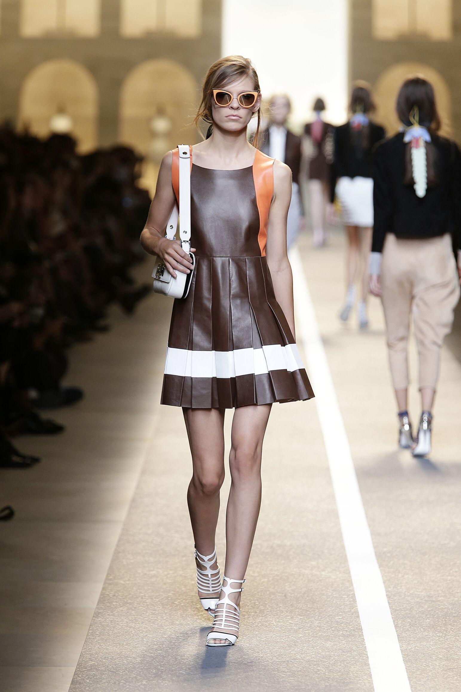 2015 Catwalk Fendi Summer Womenswear