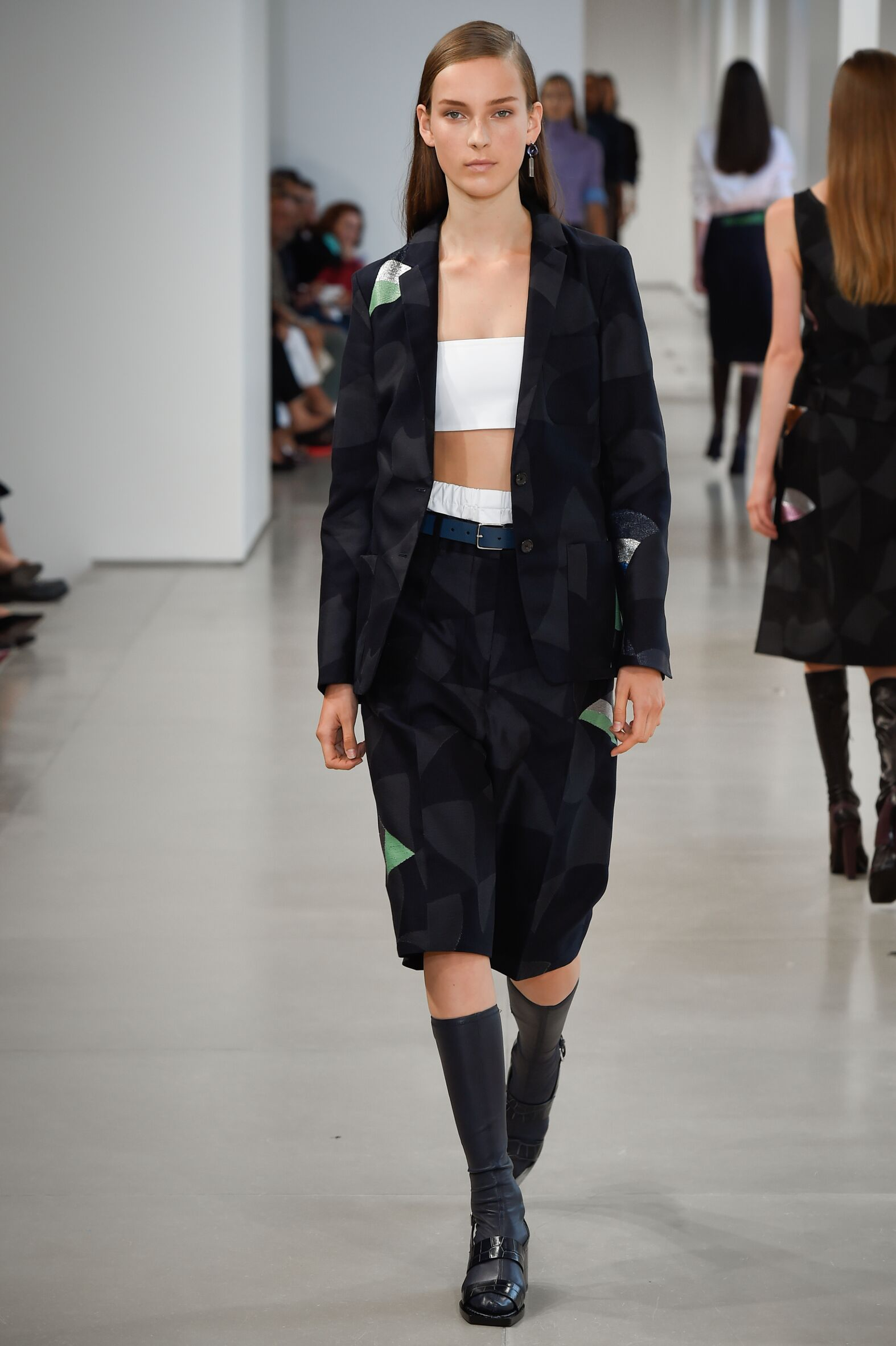 2015 Catwalk Jil Sander Woman Fashion Show Summer