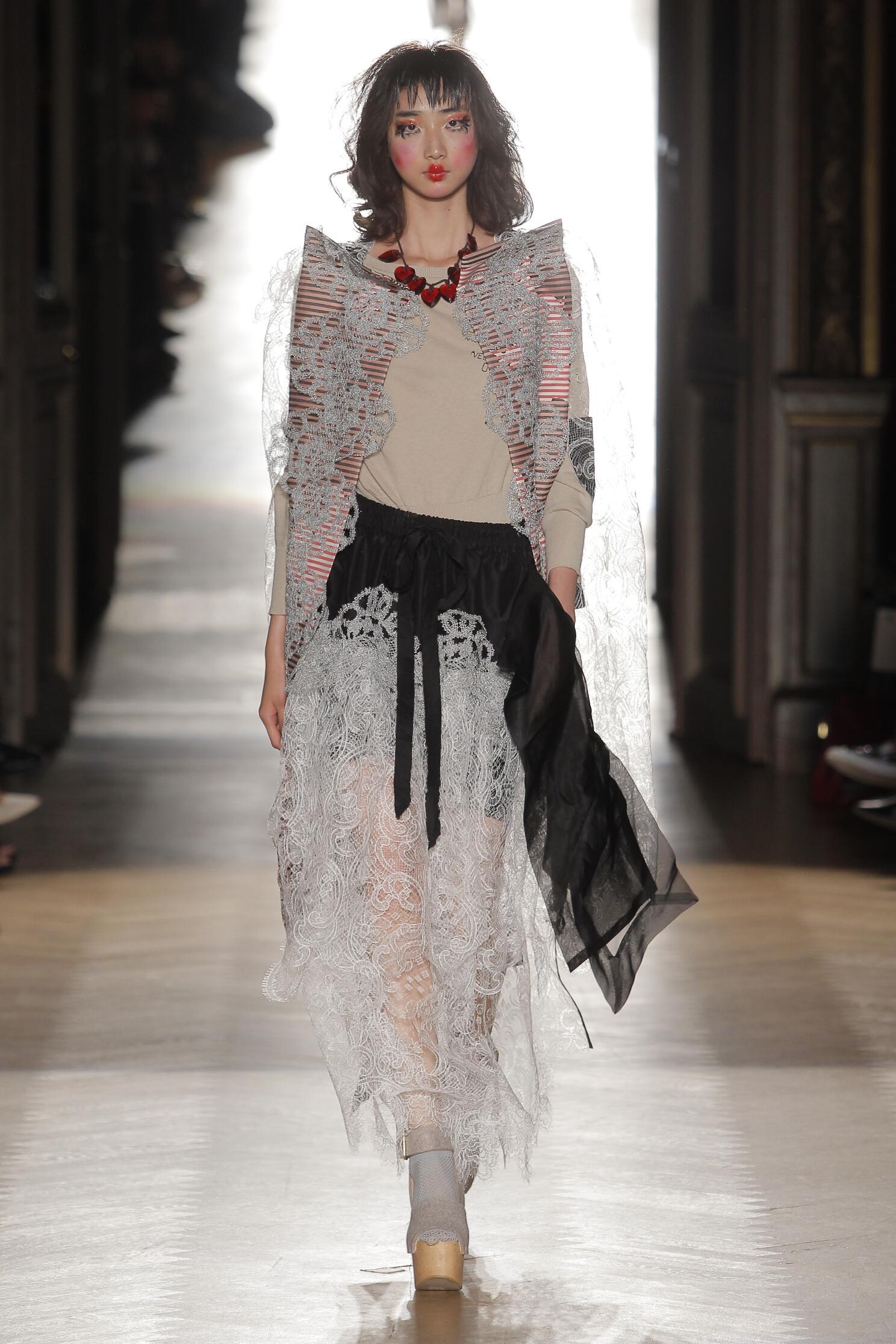 2015 Catwalk Vivienne Westwood Gold Label Womenswear