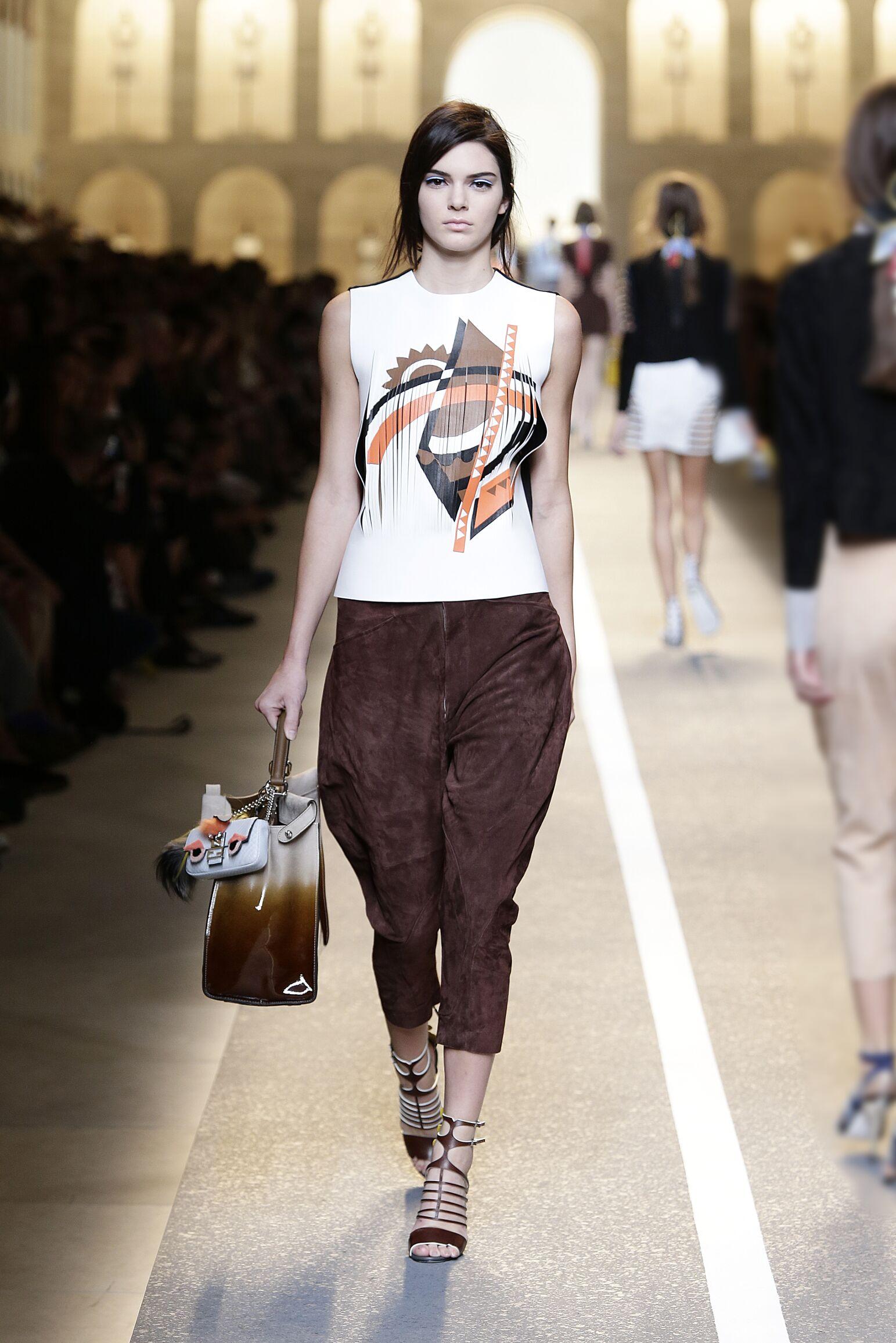 2015 Fendi Summer Catwalk Womenswear