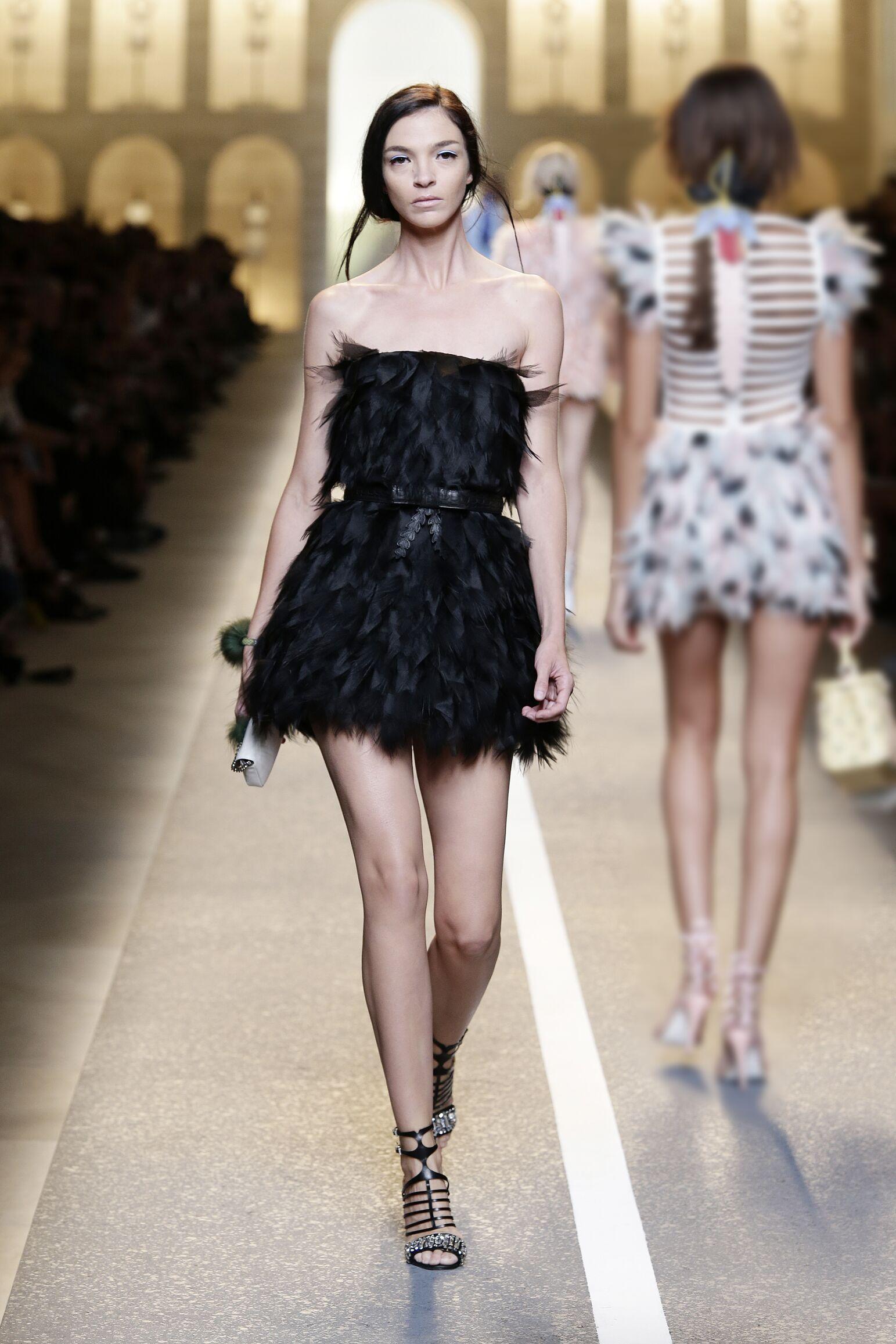 2015 Fendi Summer Runway Womenswear