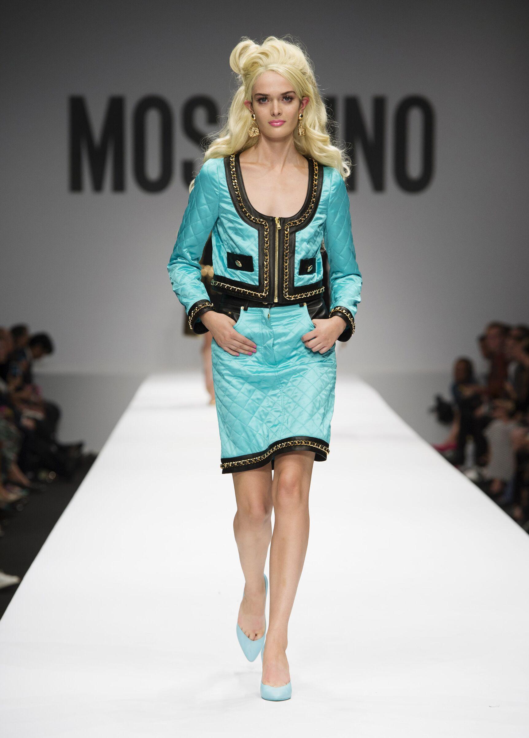 2015 Woman Style Moschino