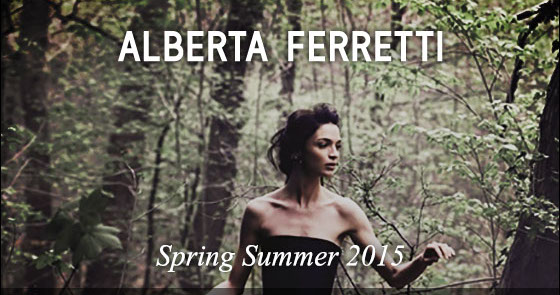 Alberta Ferretti Spring Summer 2015 Fashion Show Live Streaming 17th September 5pm Milan
