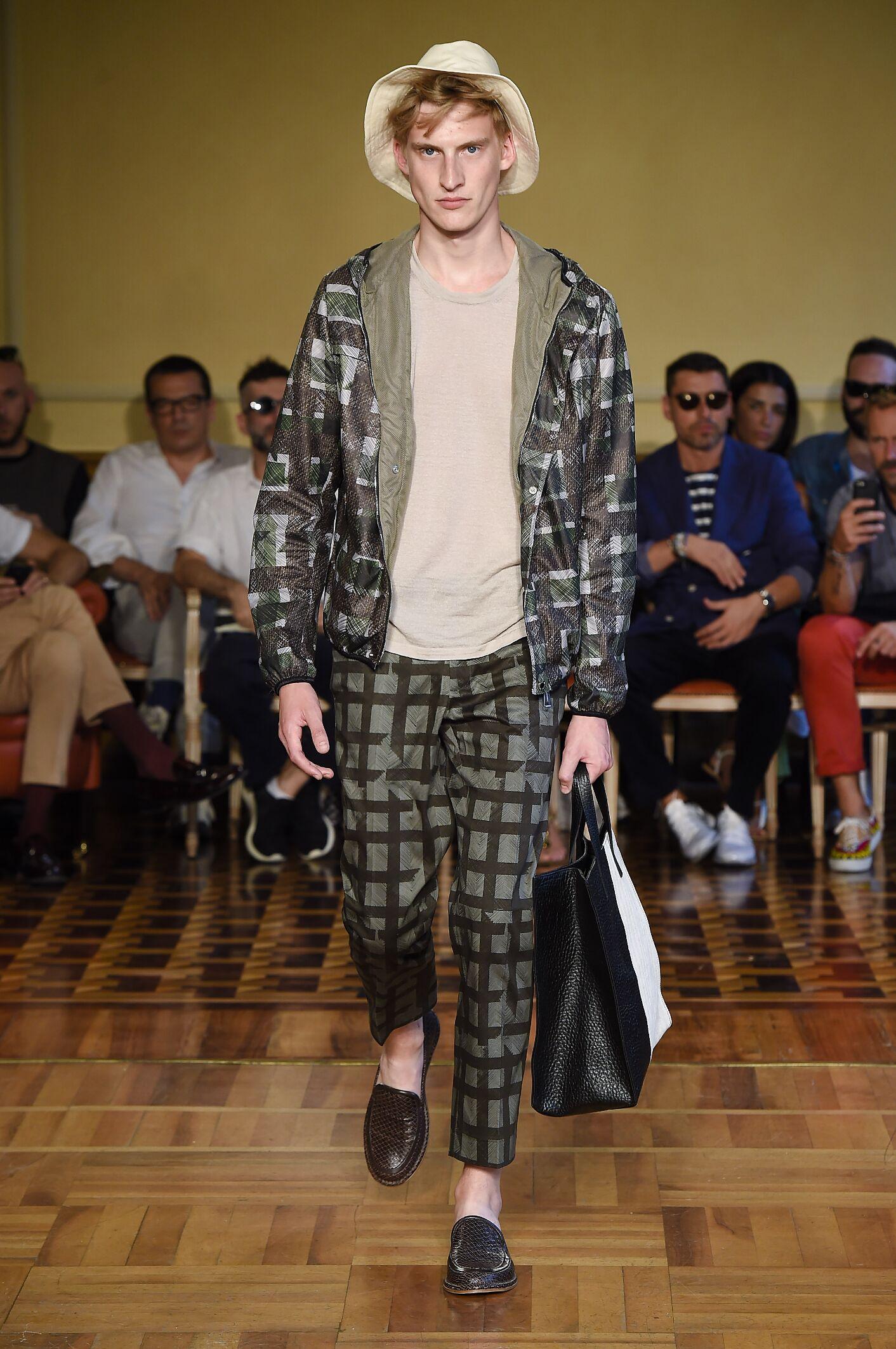Andrea Incontri Man Milan Fashion Week