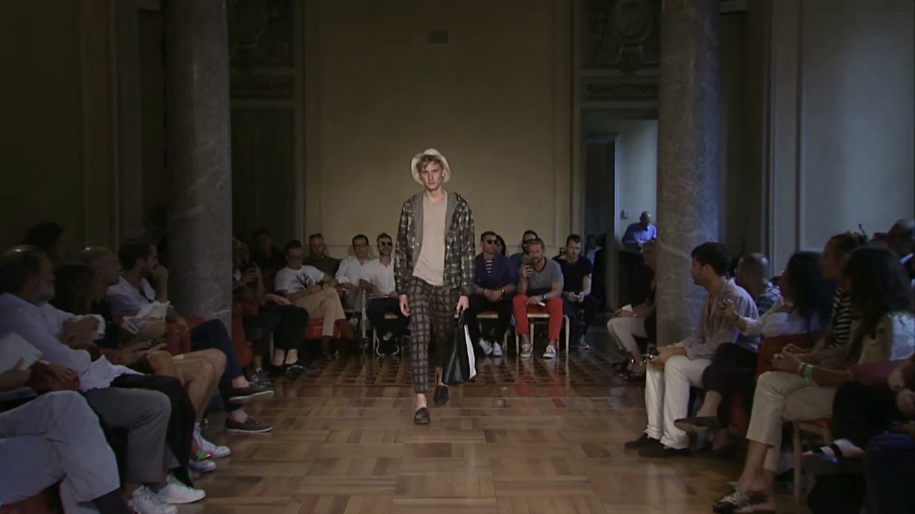 Andrea Incontri Spring Summer 2015 Men's Fashion Show - Milano Fashion Week