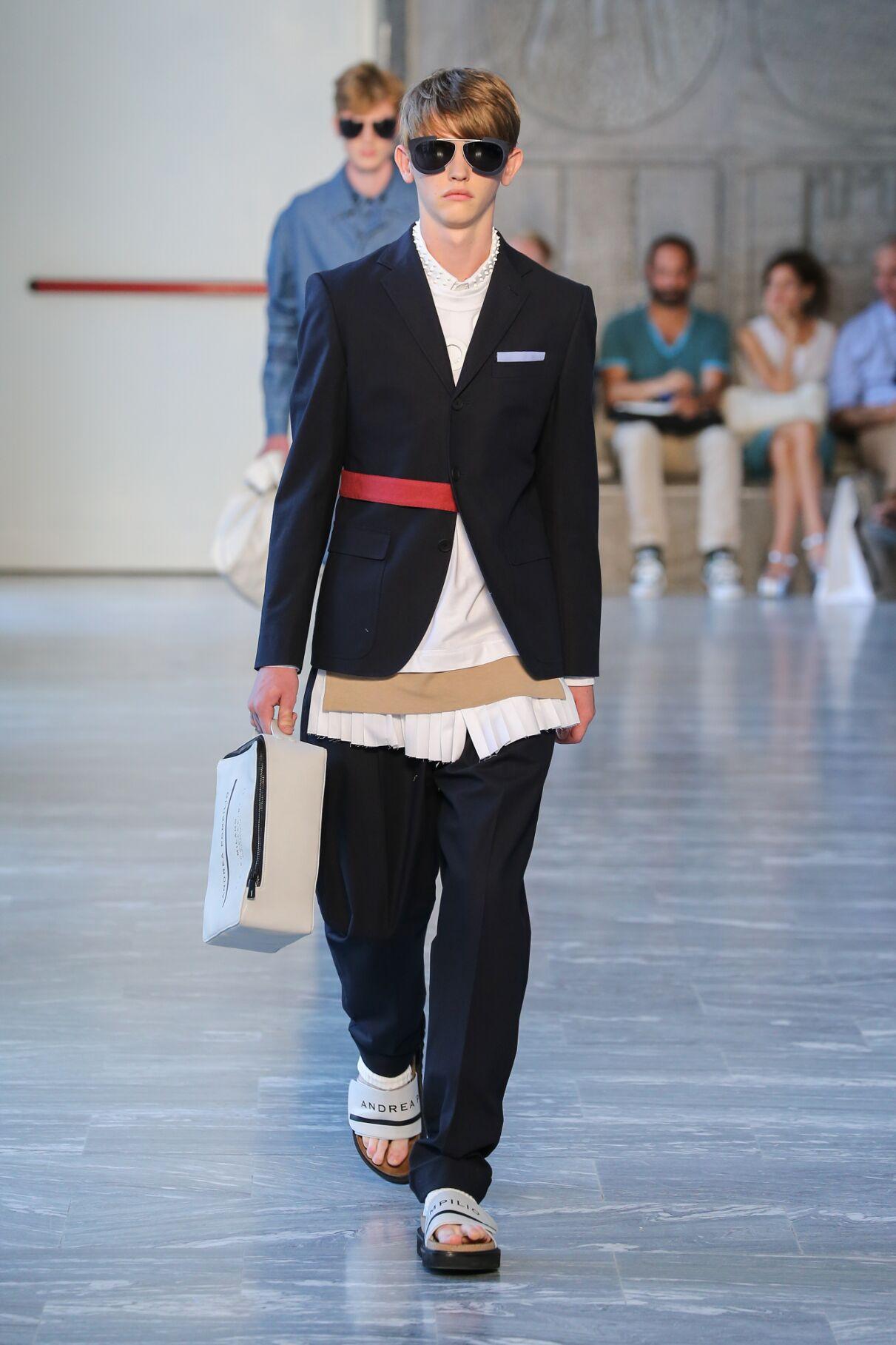 Andrea Pompilio Man Milan Fashion Week