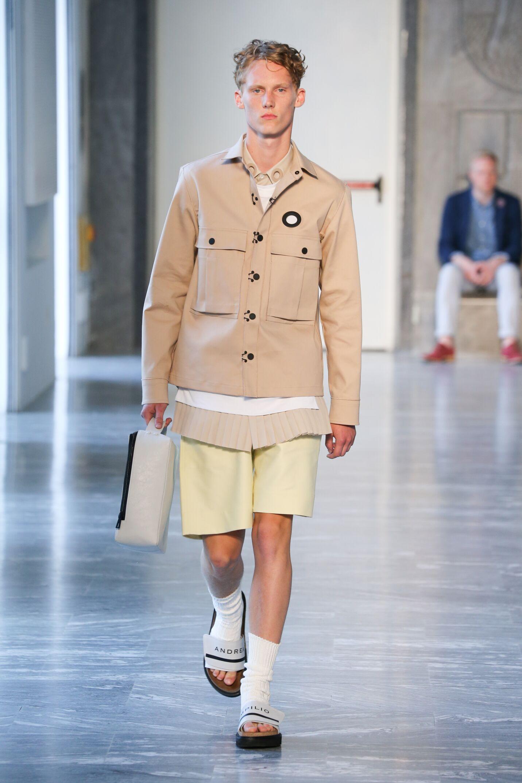 Andrea Pompilio Milan Fashion Week Menswear