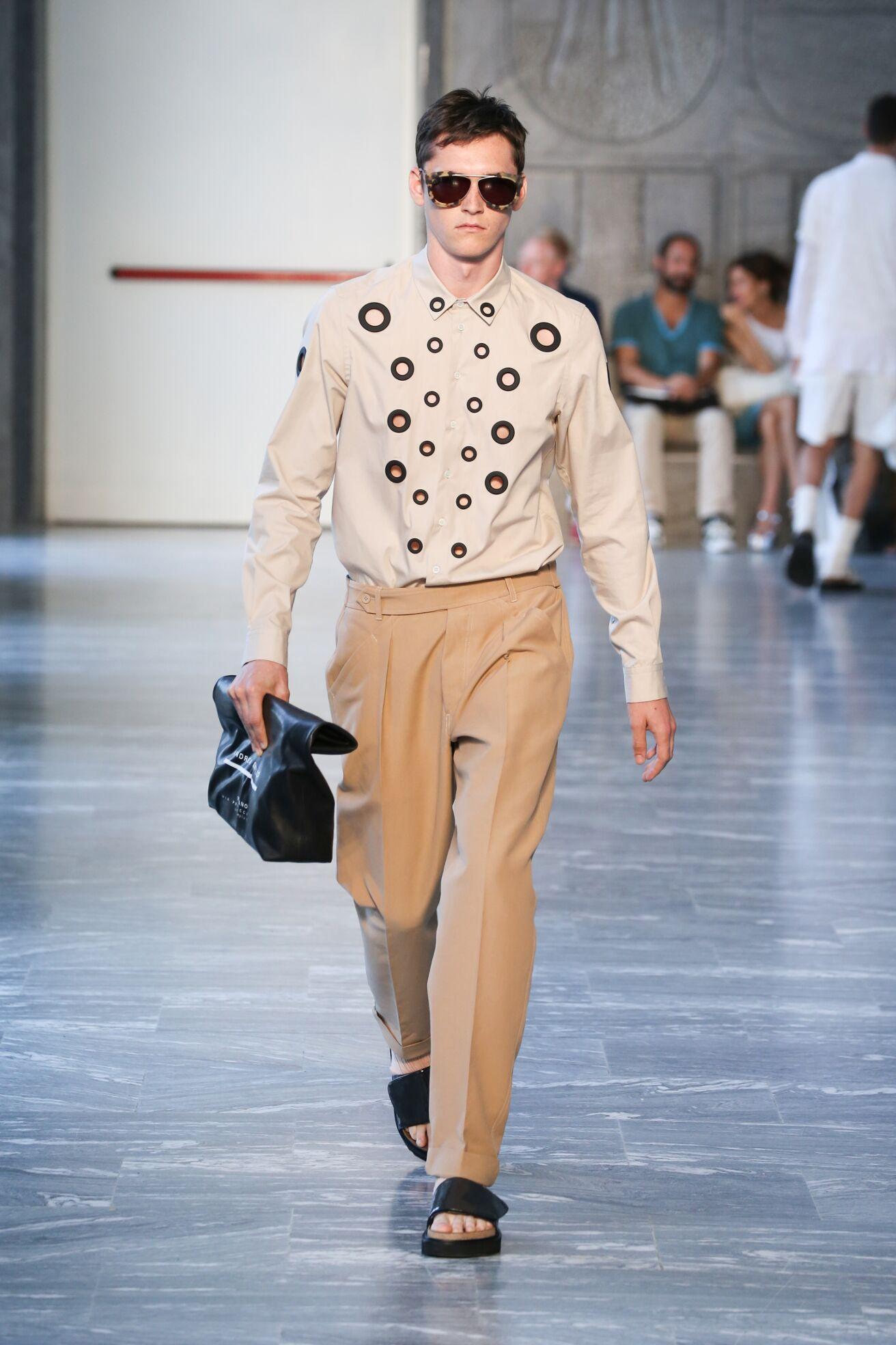 Andrea Pompilio Milan Fashion Week