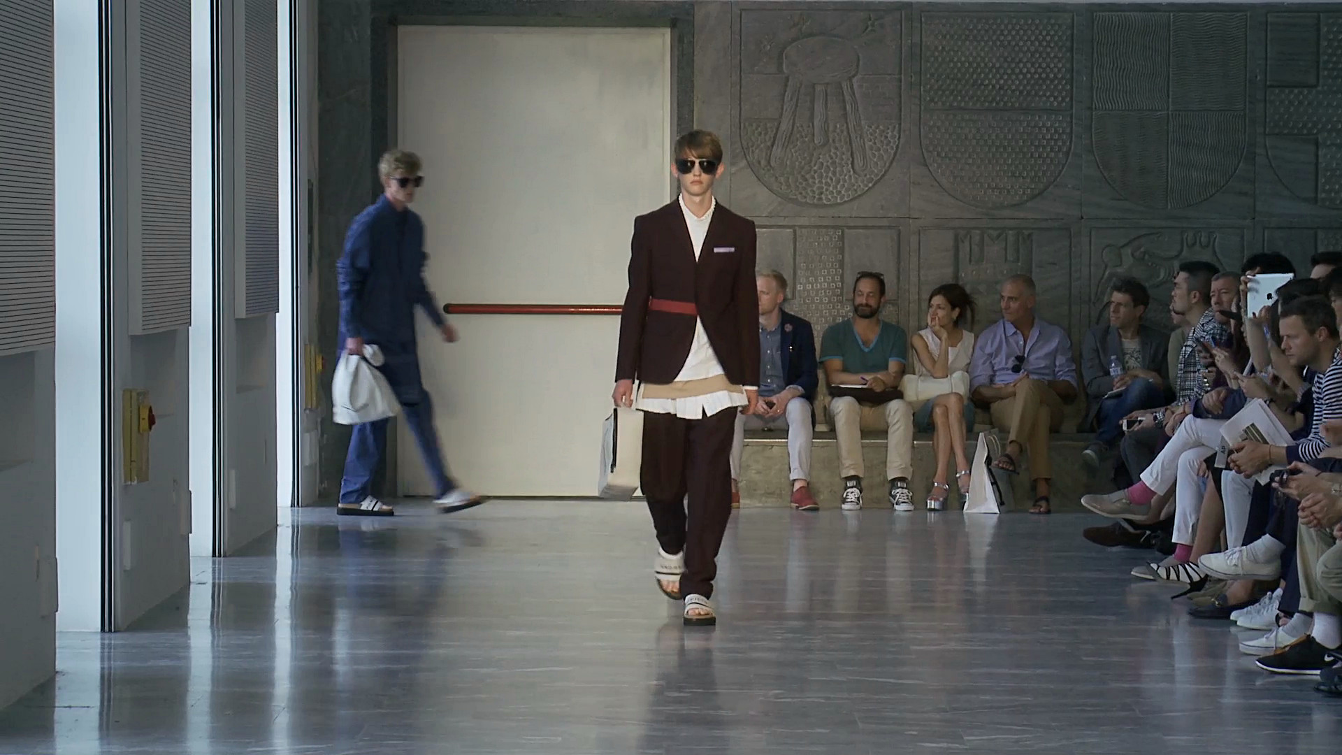 Andrea Pompilio Spring Summer 2015 Men's Fashion Show - Milano Fashion Week