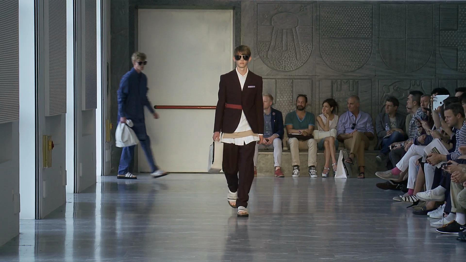 Andrea Pompilio Spring Summer 2015 Men's Fashion Show - Milano Fashion Week