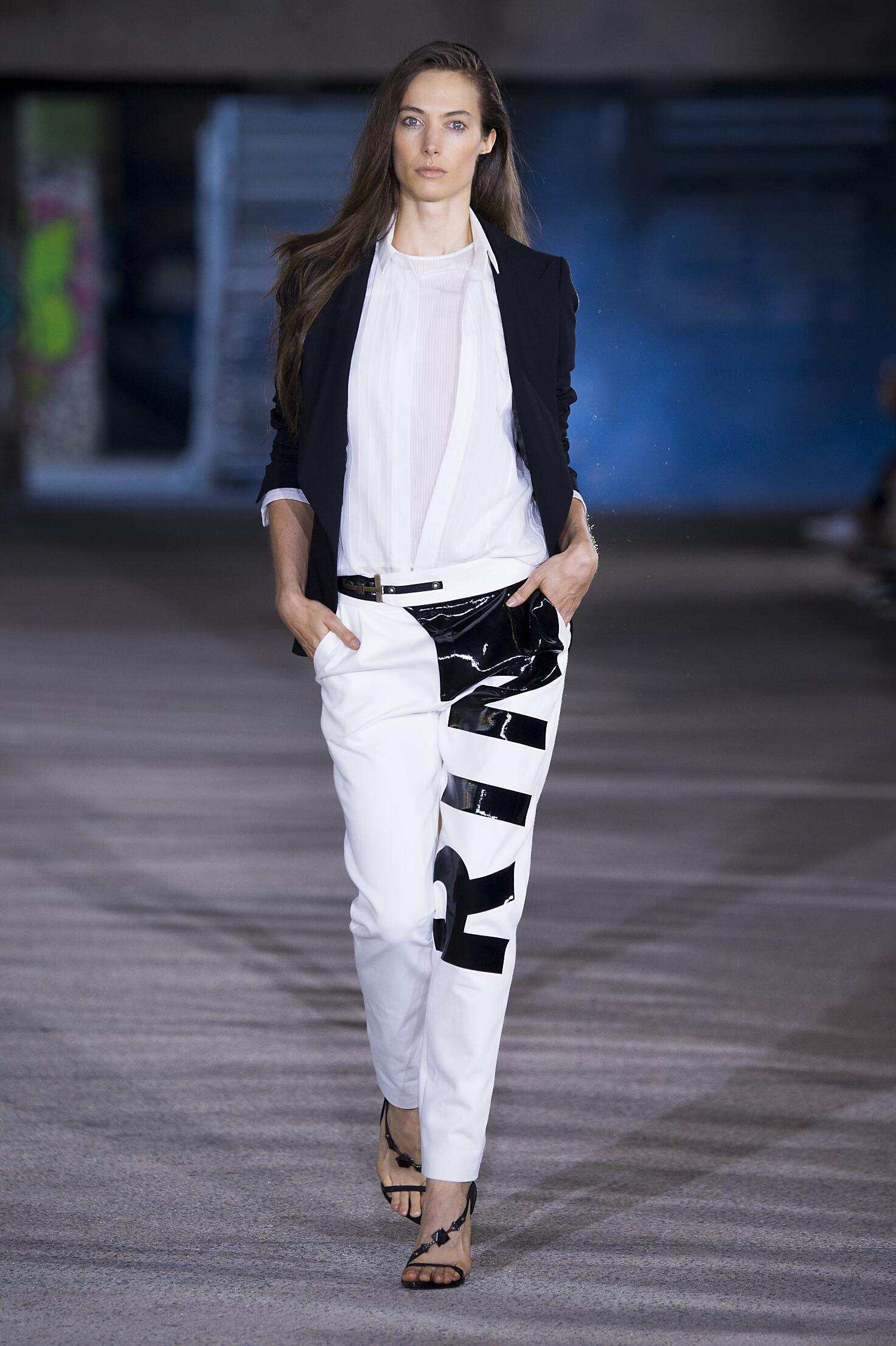 Anthony Vaccarello Paris Fashion Week