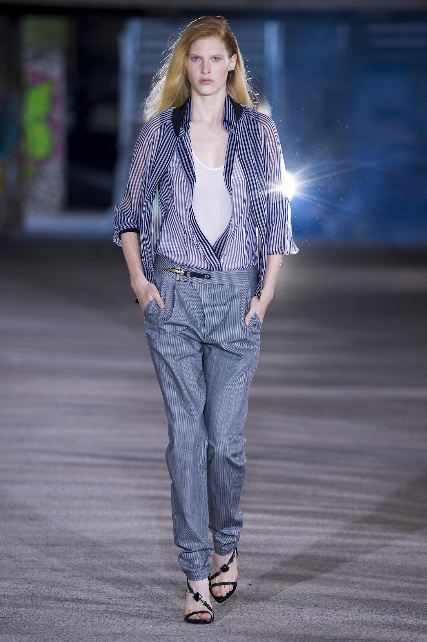 Anthony Vaccarello Spring Summer 2015 Womens Collection Paris Fashion Week