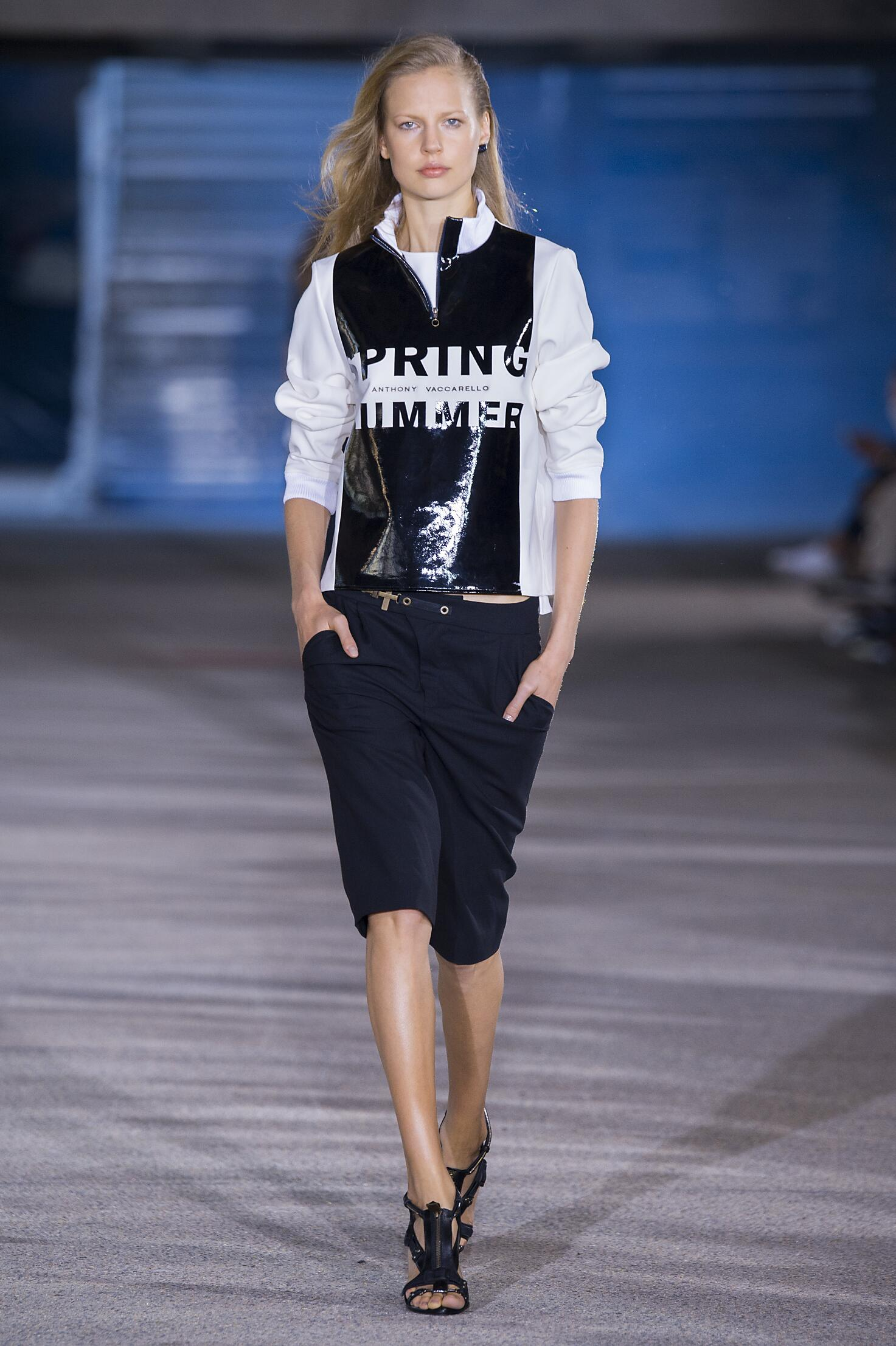 Anthony Vaccarello Women's Collection 2015