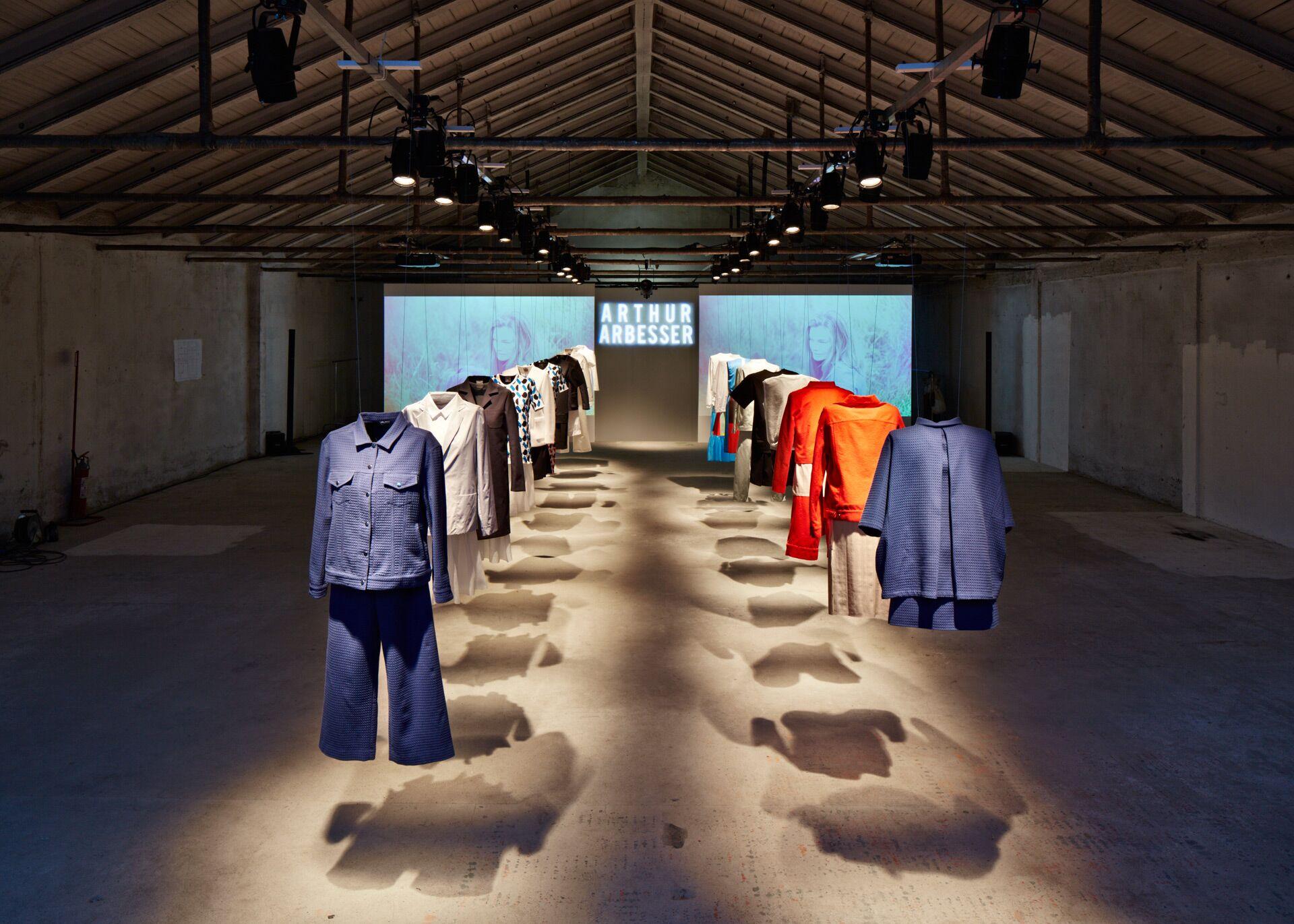 Arthur Arbesser SS Milan Fashion Week