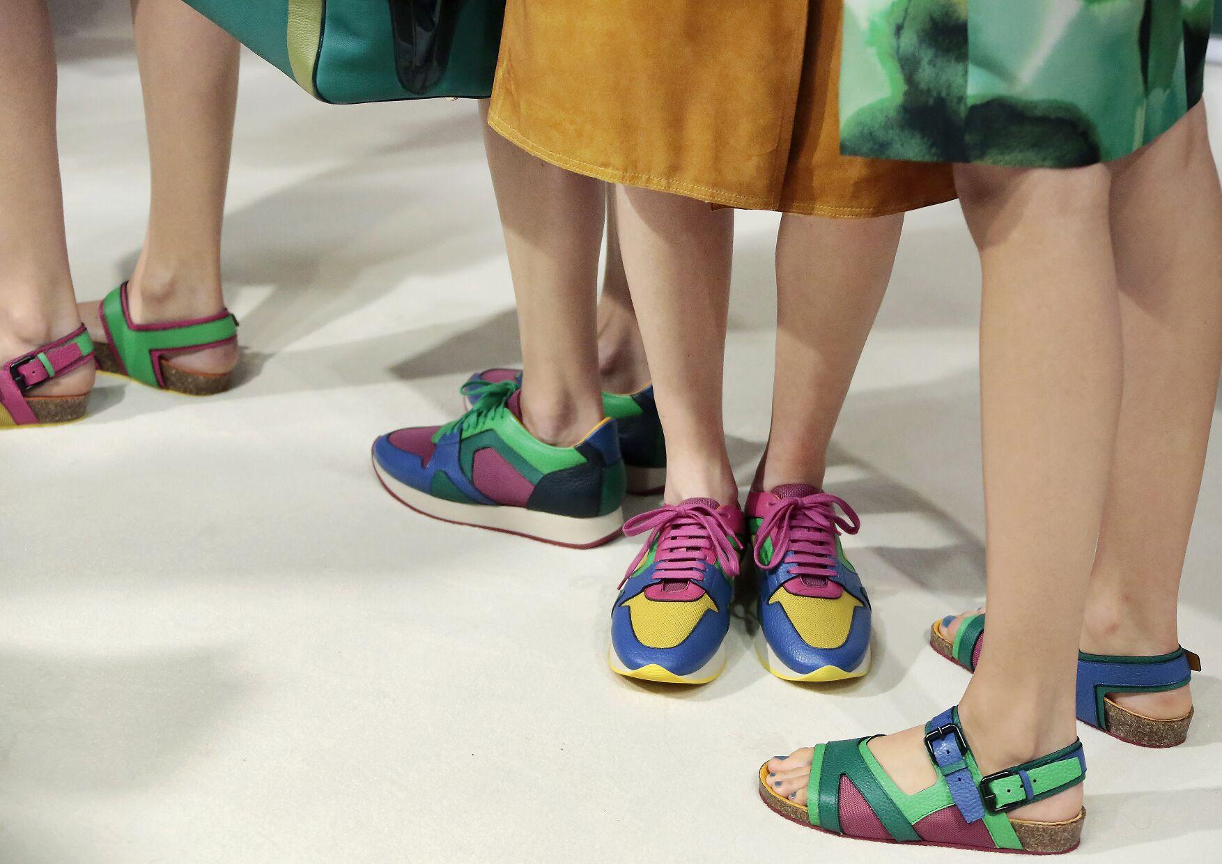 Backstage Burberry Prorsum Shoes