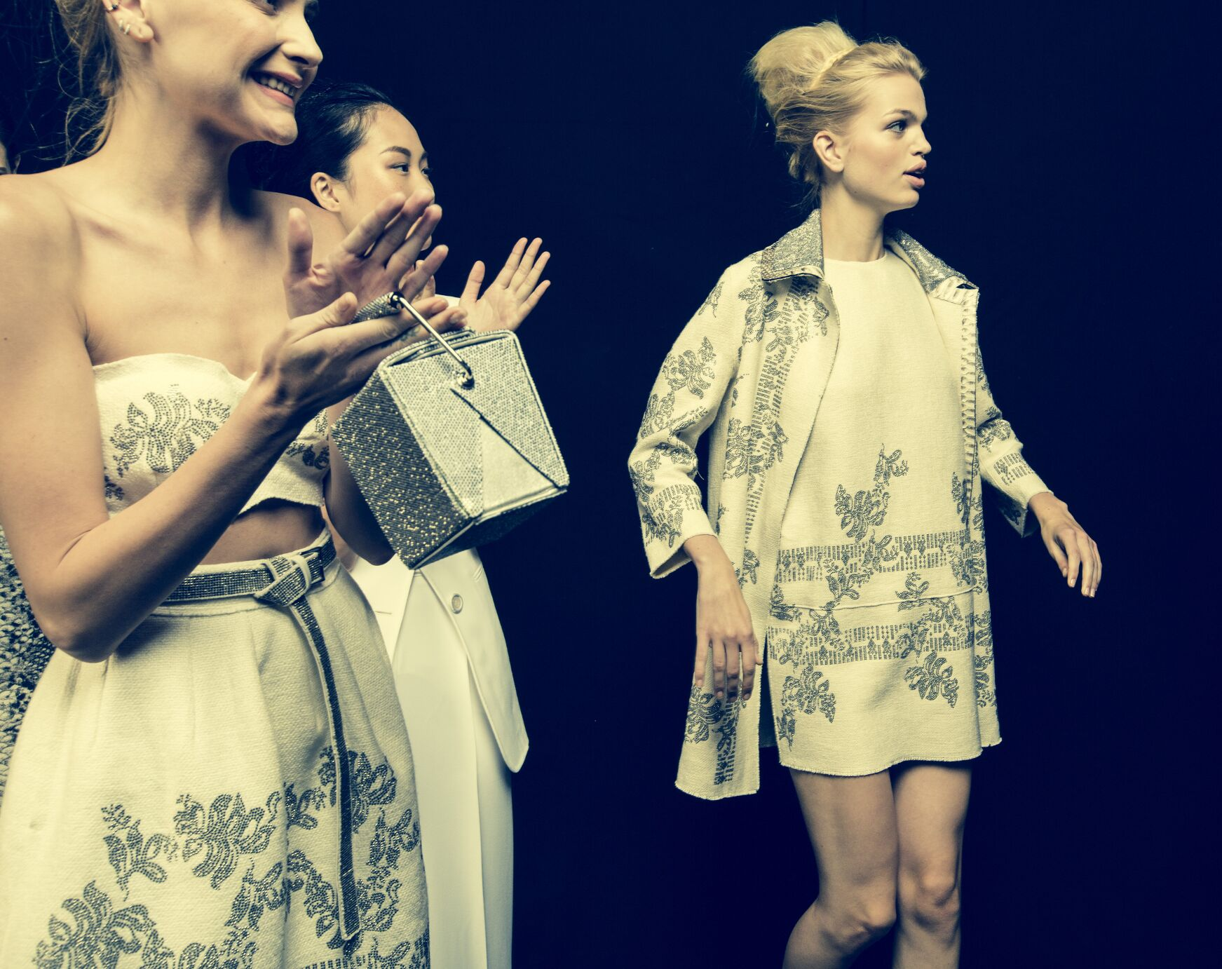 Backstage Ermanno Scervino 2015