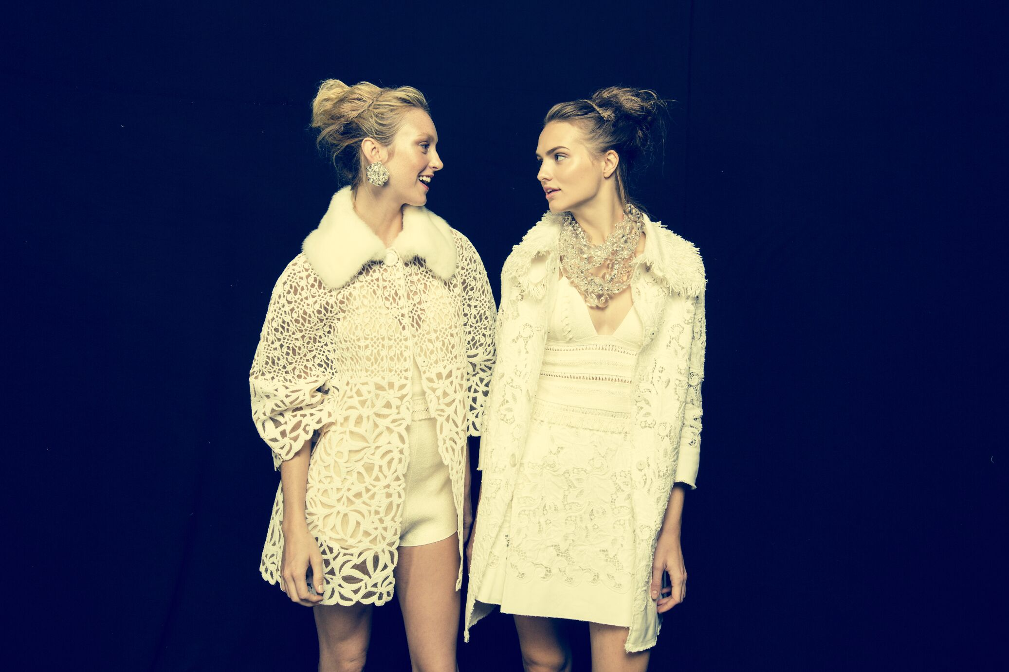 Backstage Ermanno Scervino Fashion Models Milan Fashion Week