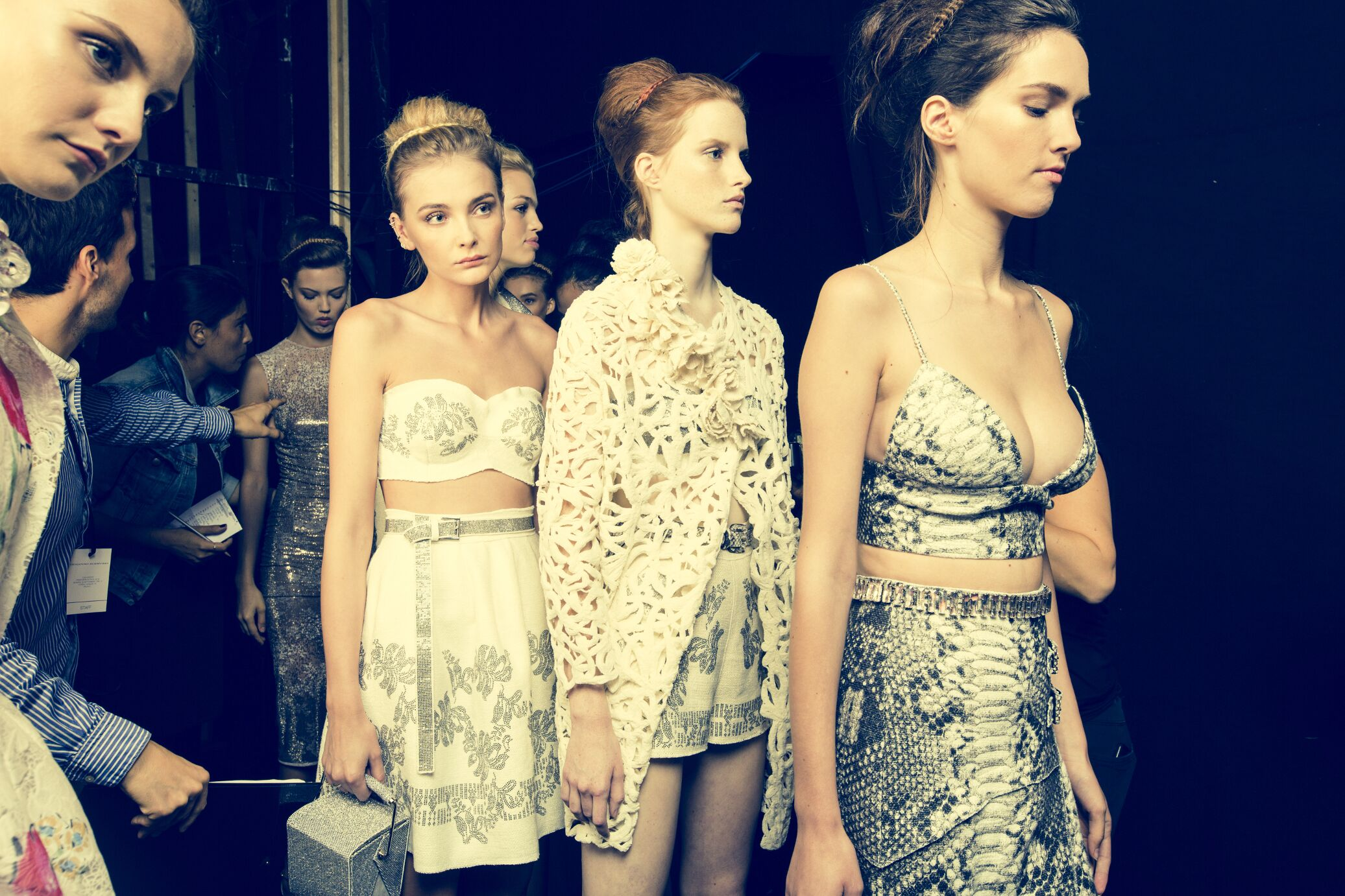 Backstage Ermanno Scervino