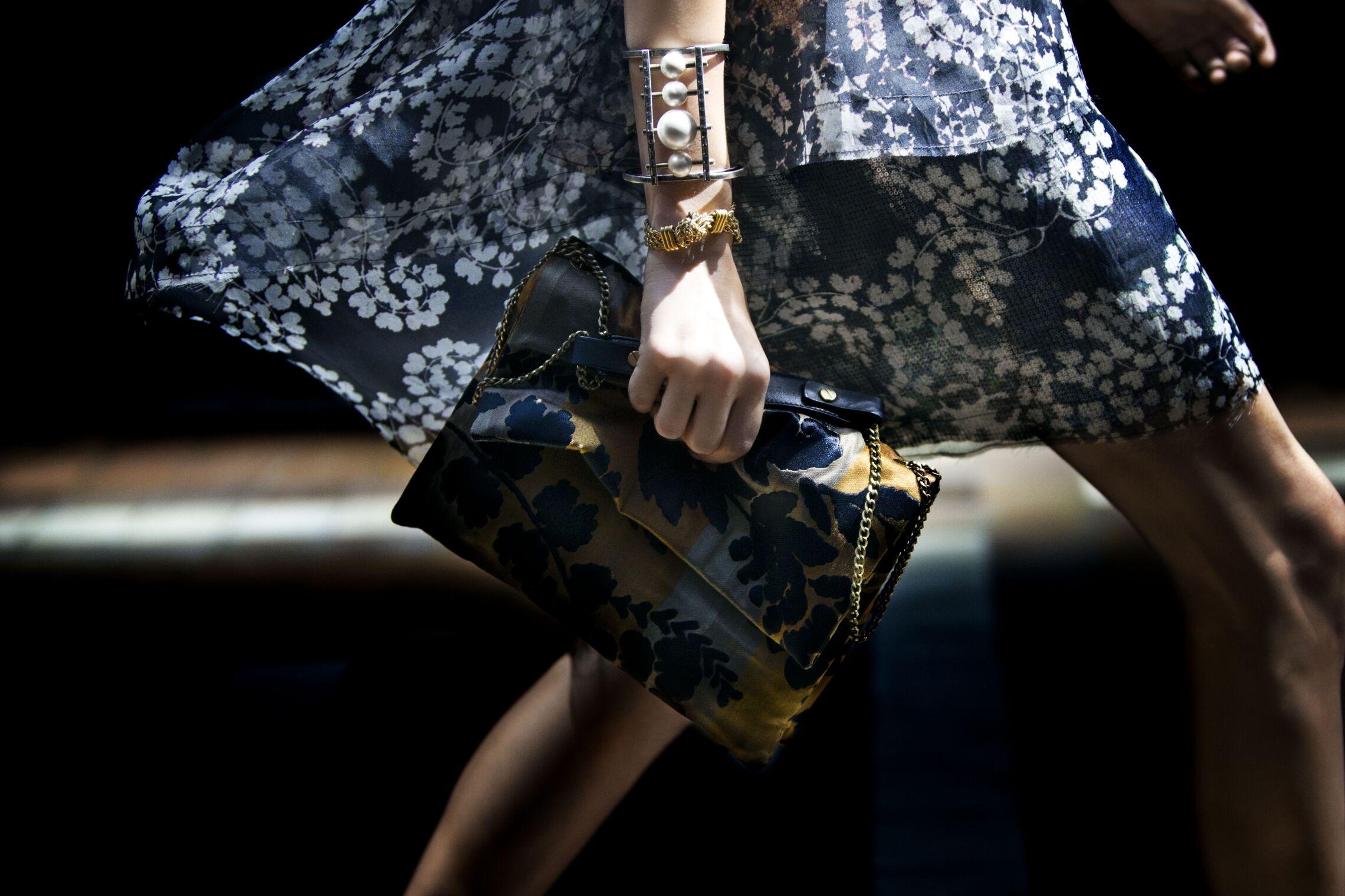 Backstage Lanvin Fashion Show