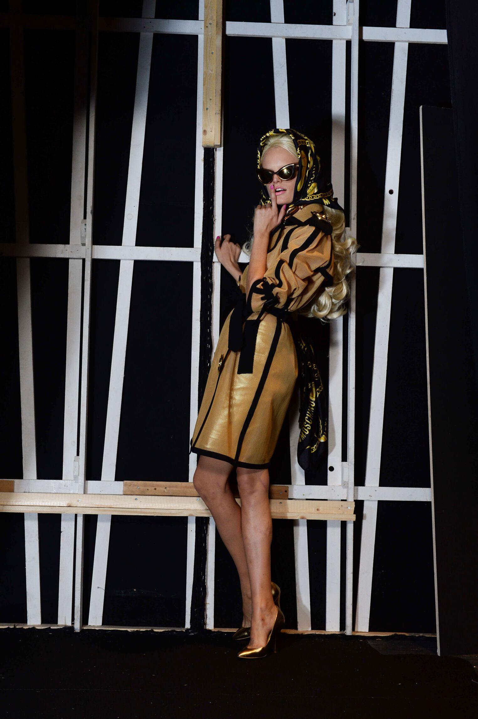 Backstage Moschino Spring Summer 2015 Womenswear Milan