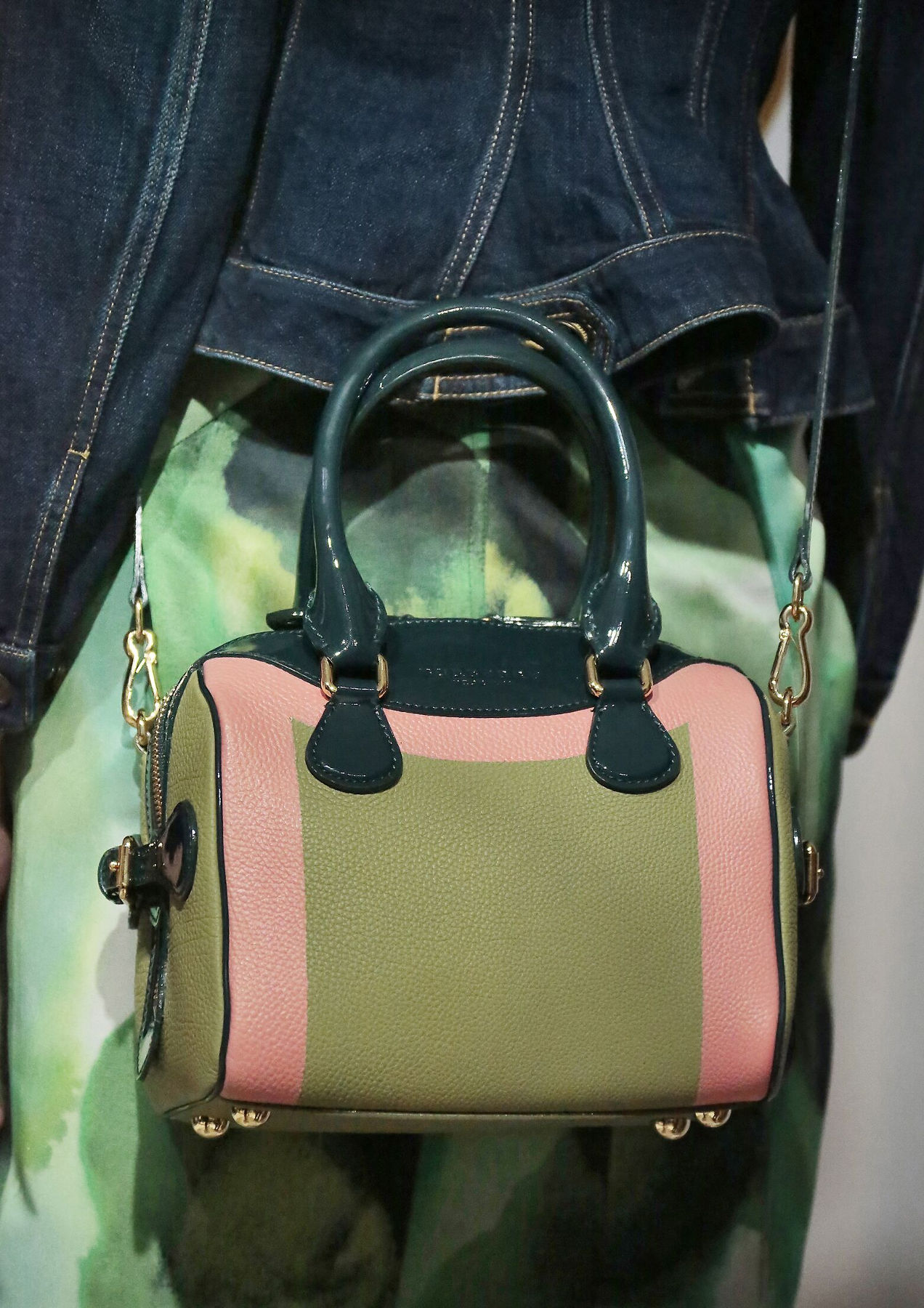 Bag Burberry Prorsum Backstage