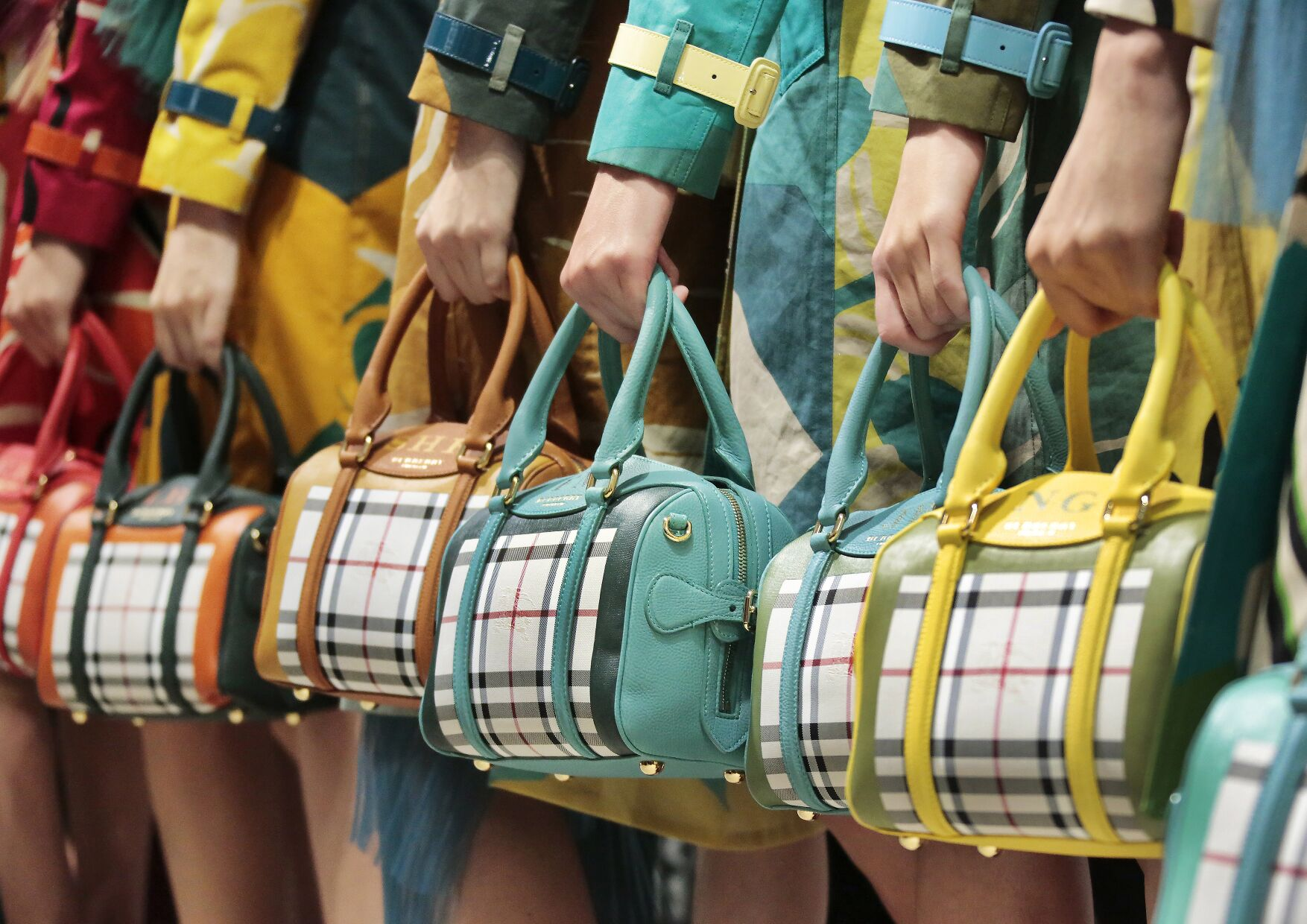 Burberry Prorsum Backstage 2014