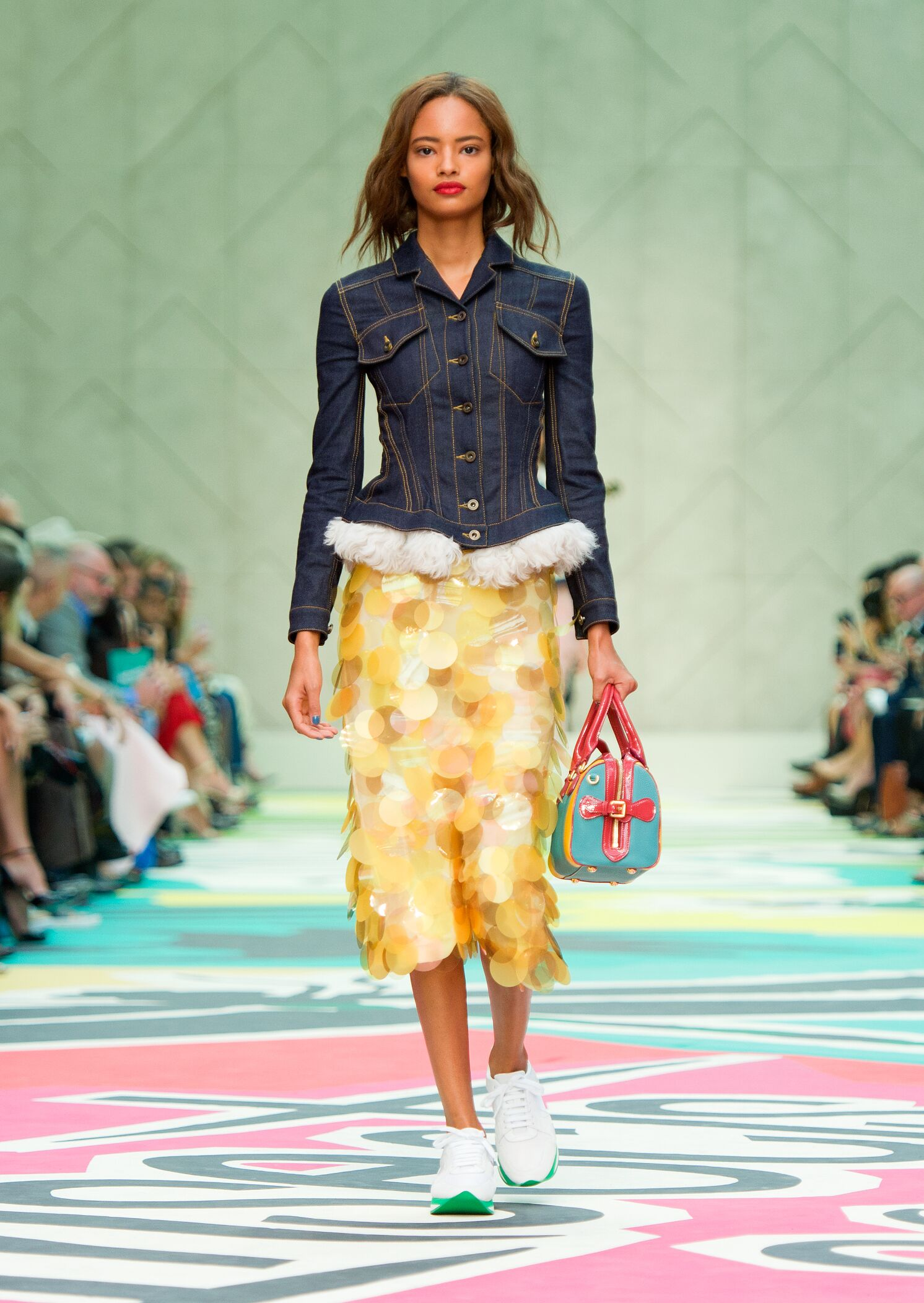 Burberry Prorsum Woman London Fashion Week