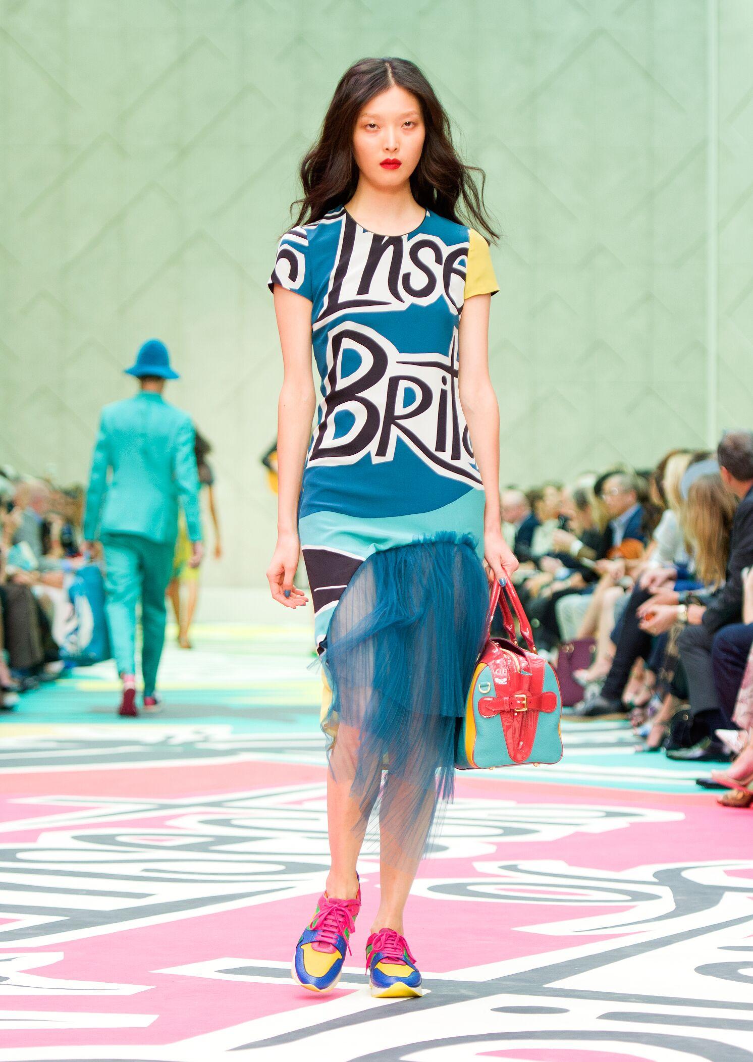 Burberry Prorsum Woman Style